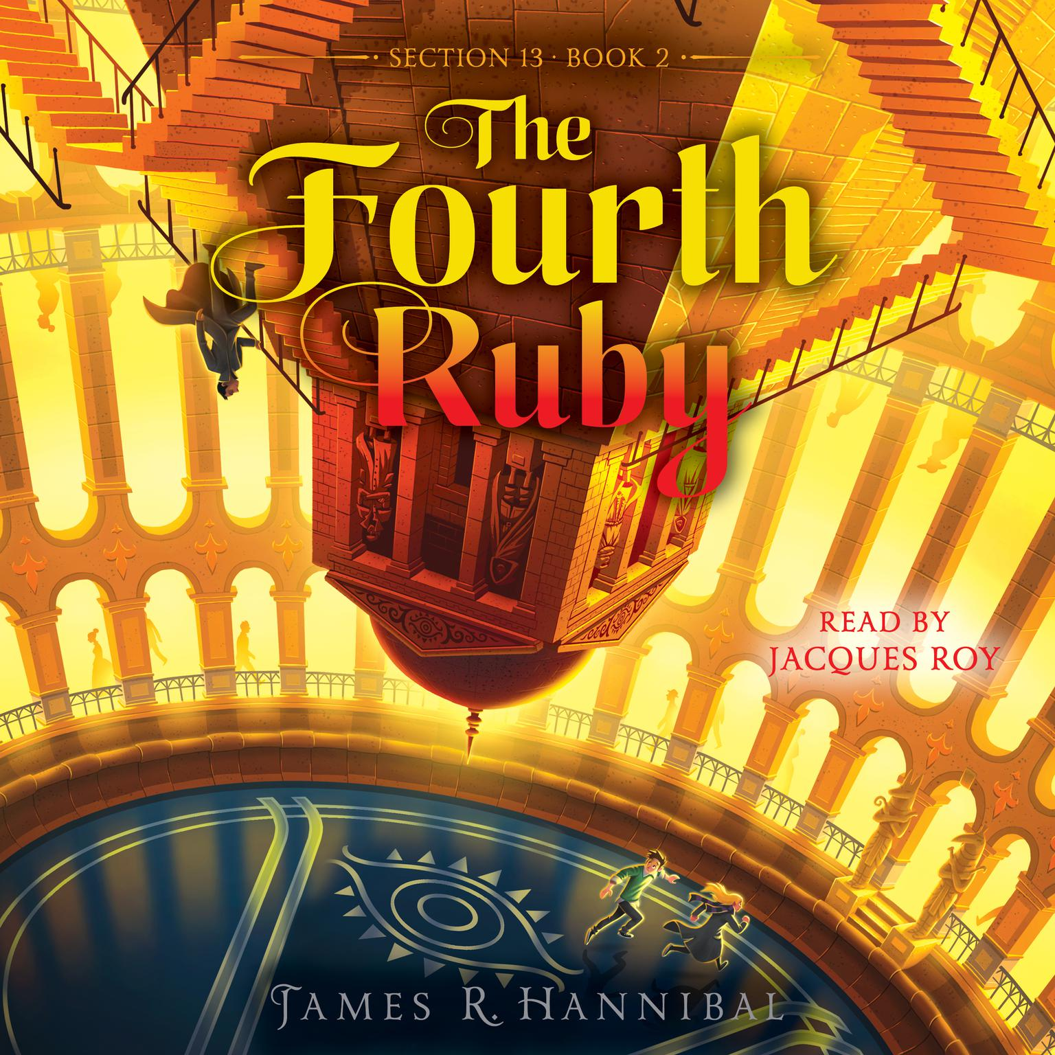 Printable The Fourth Ruby Audiobook Cover Art