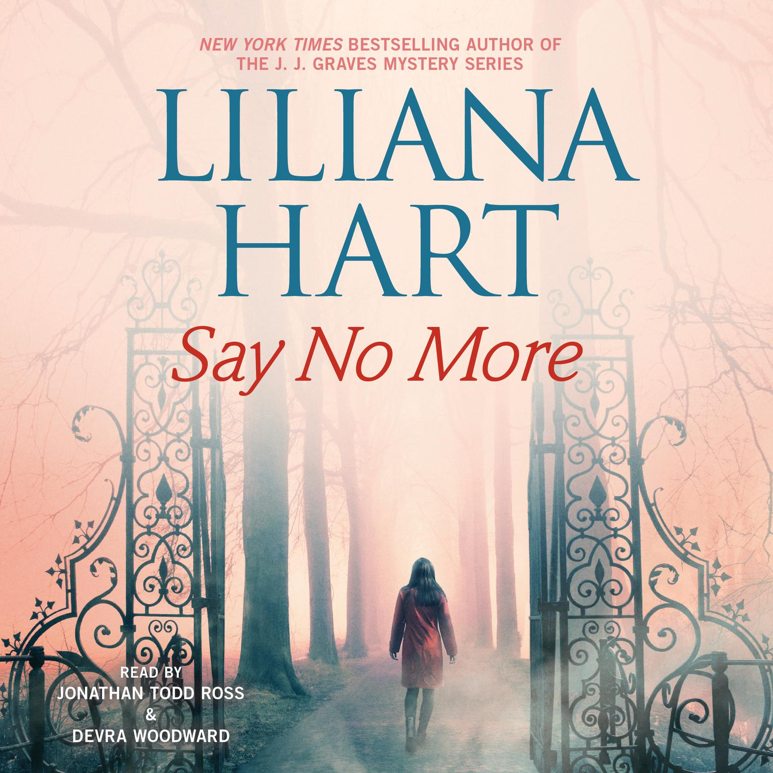 Printable Say No More Audiobook Cover Art