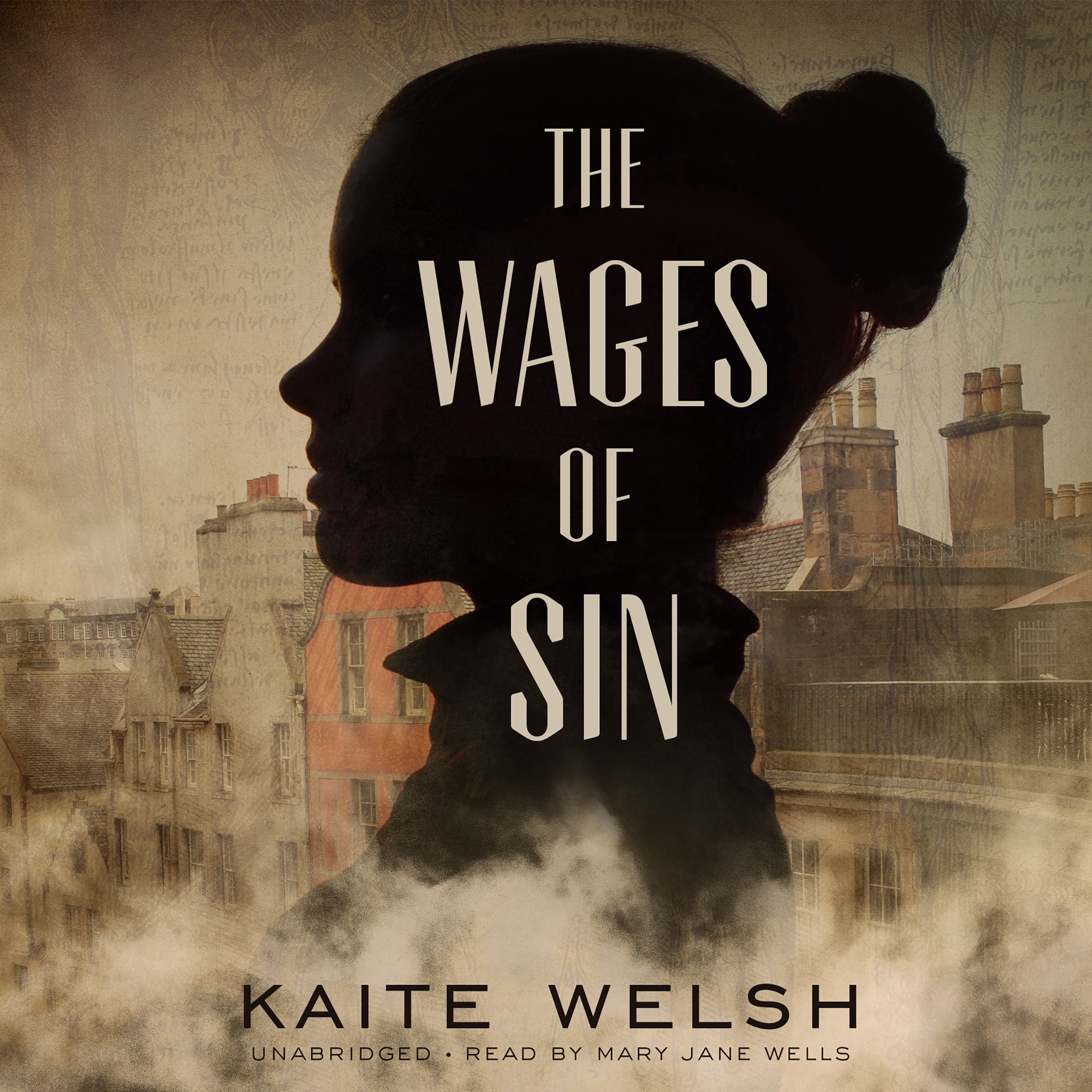 Printable The Wages of Sin Audiobook Cover Art
