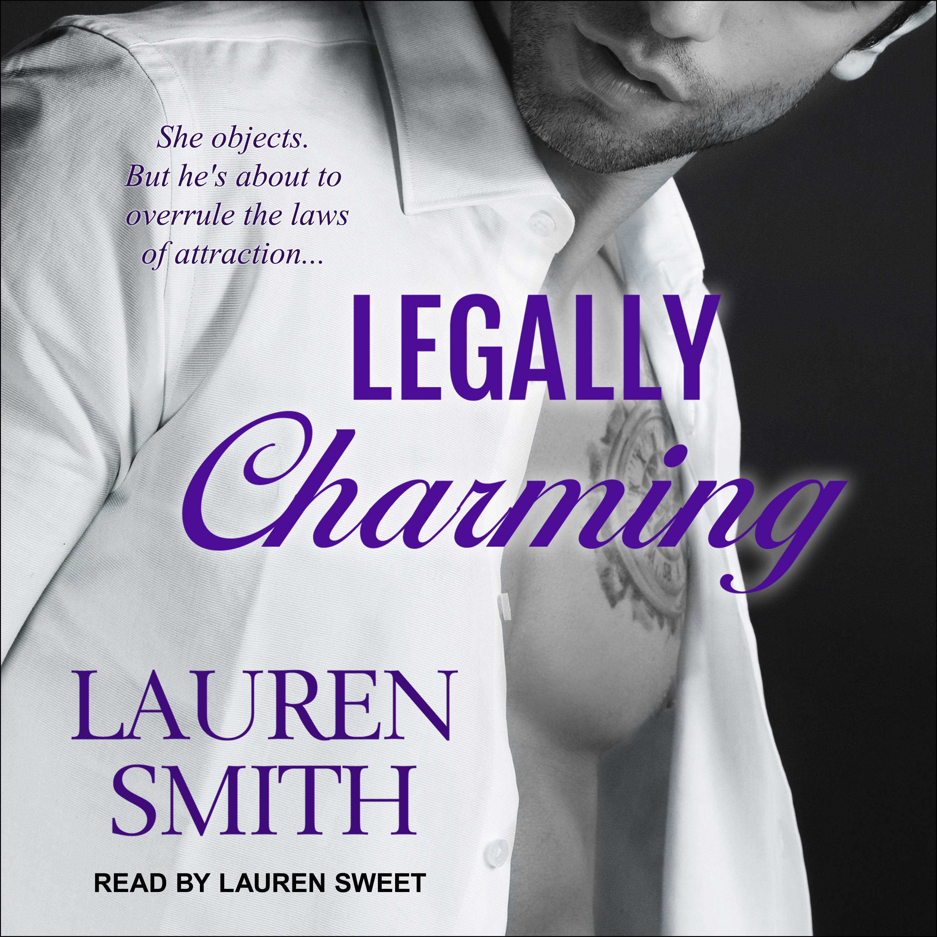 Printable Legally Charming Audiobook Cover Art