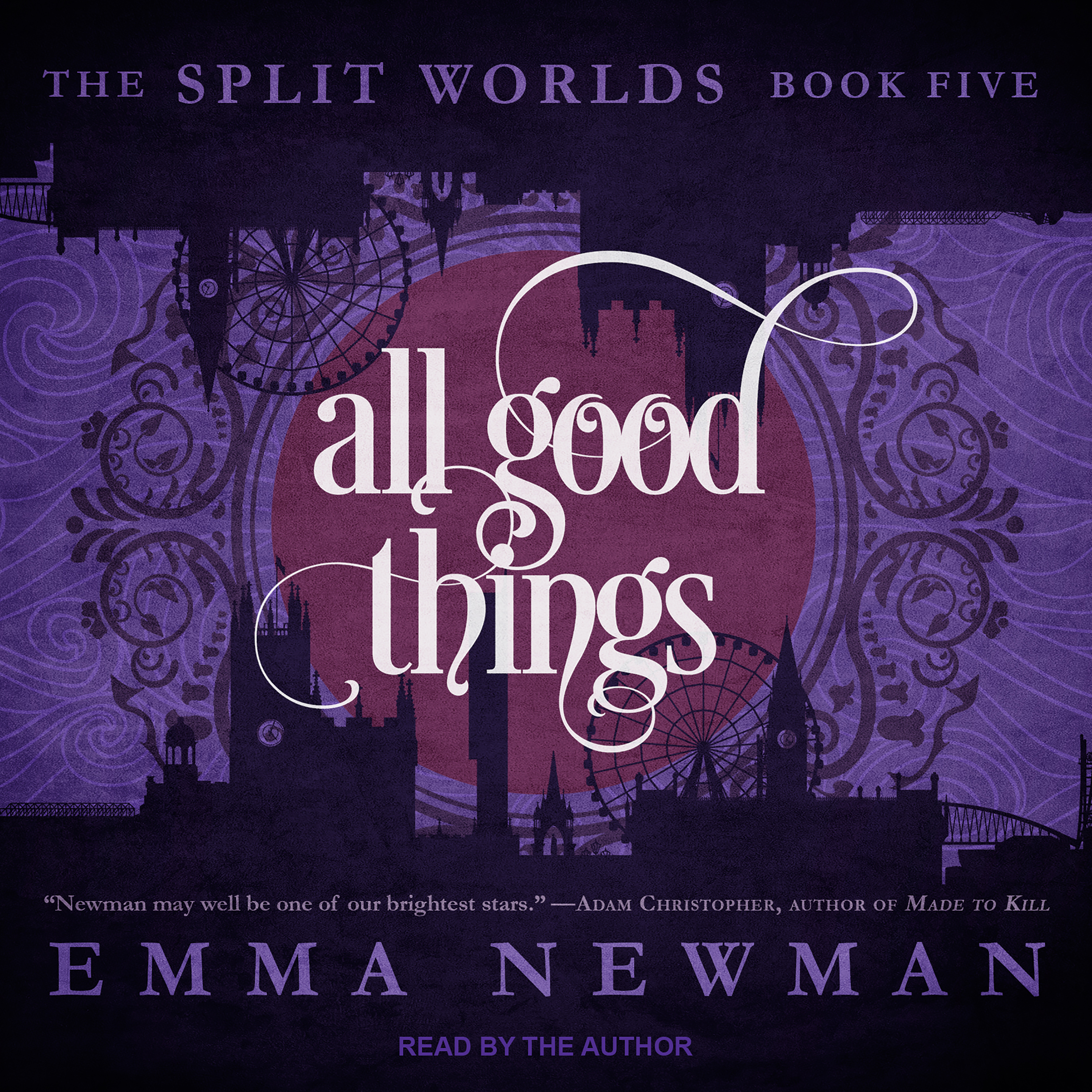 Printable All Good Things Audiobook Cover Art