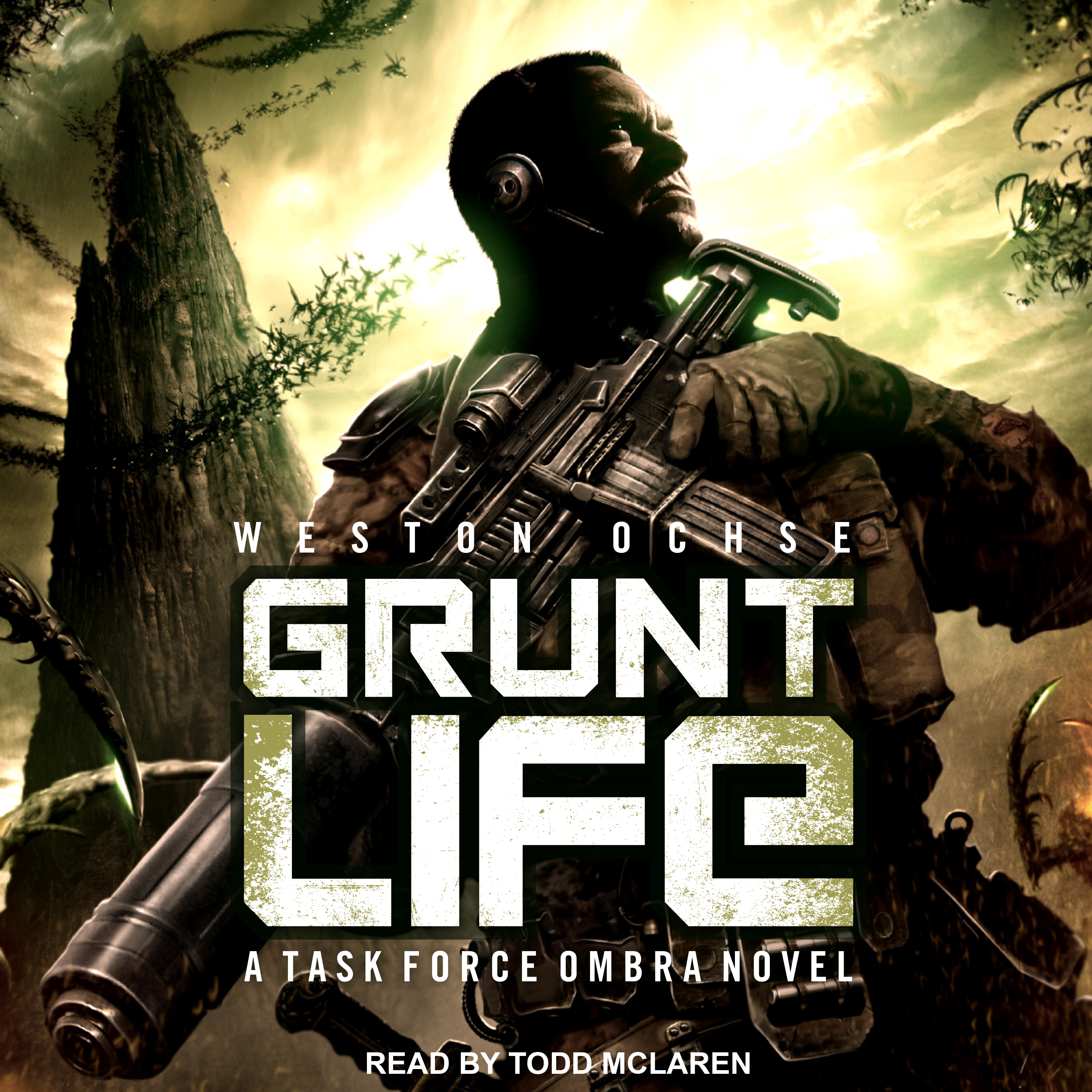 Printable Grunt Life: A Task Force Ombra Novel Audiobook Cover Art