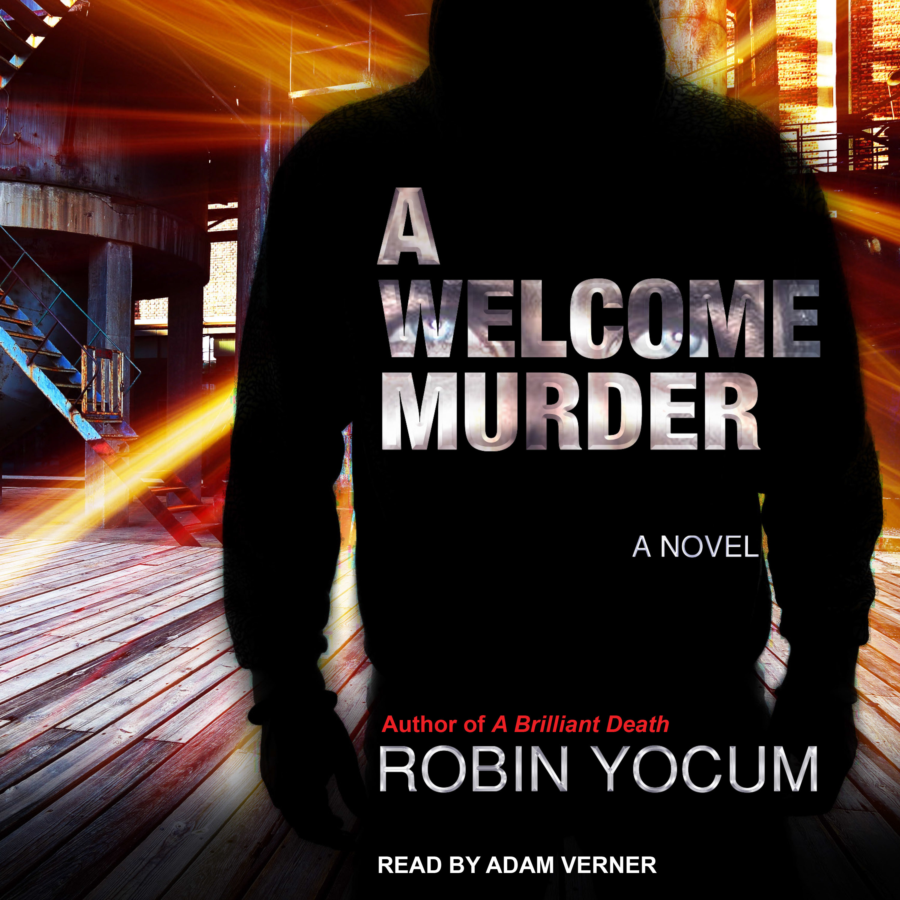 Printable A Welcome Murder Audiobook Cover Art
