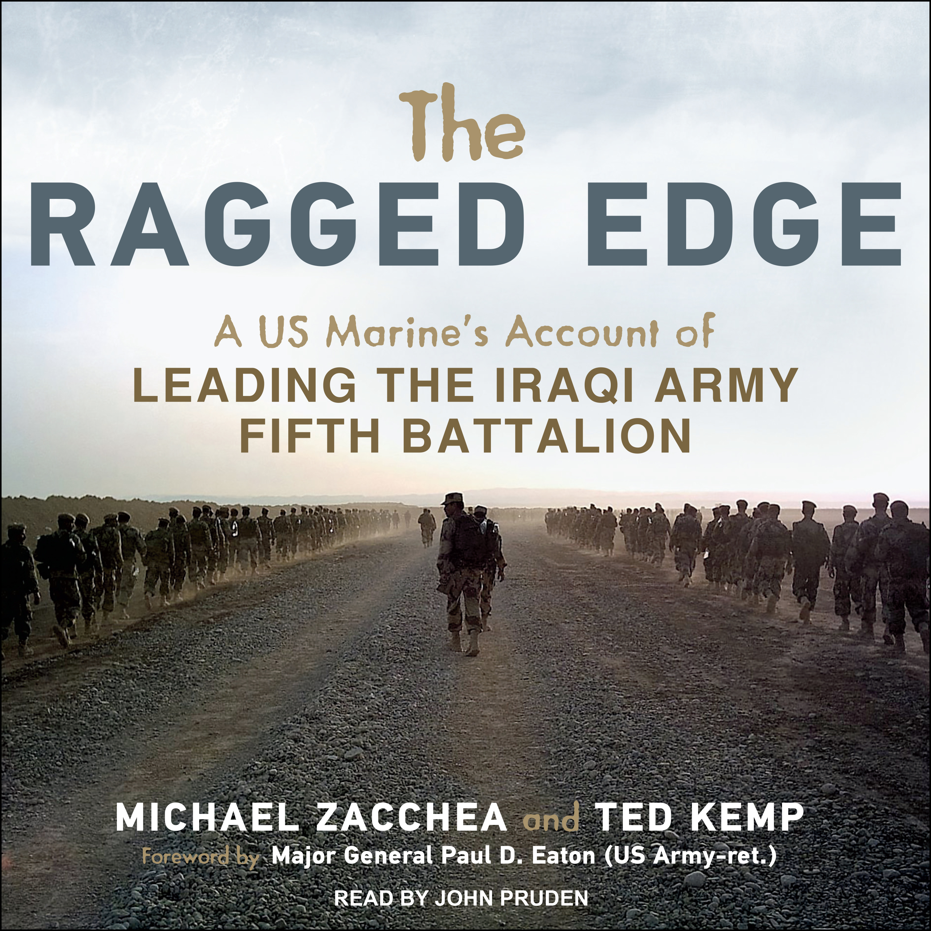 Printable The Ragged Edge: A US Marine's Account of Leading the Iraqi Army Fifth Battalion Audiobook Cover Art