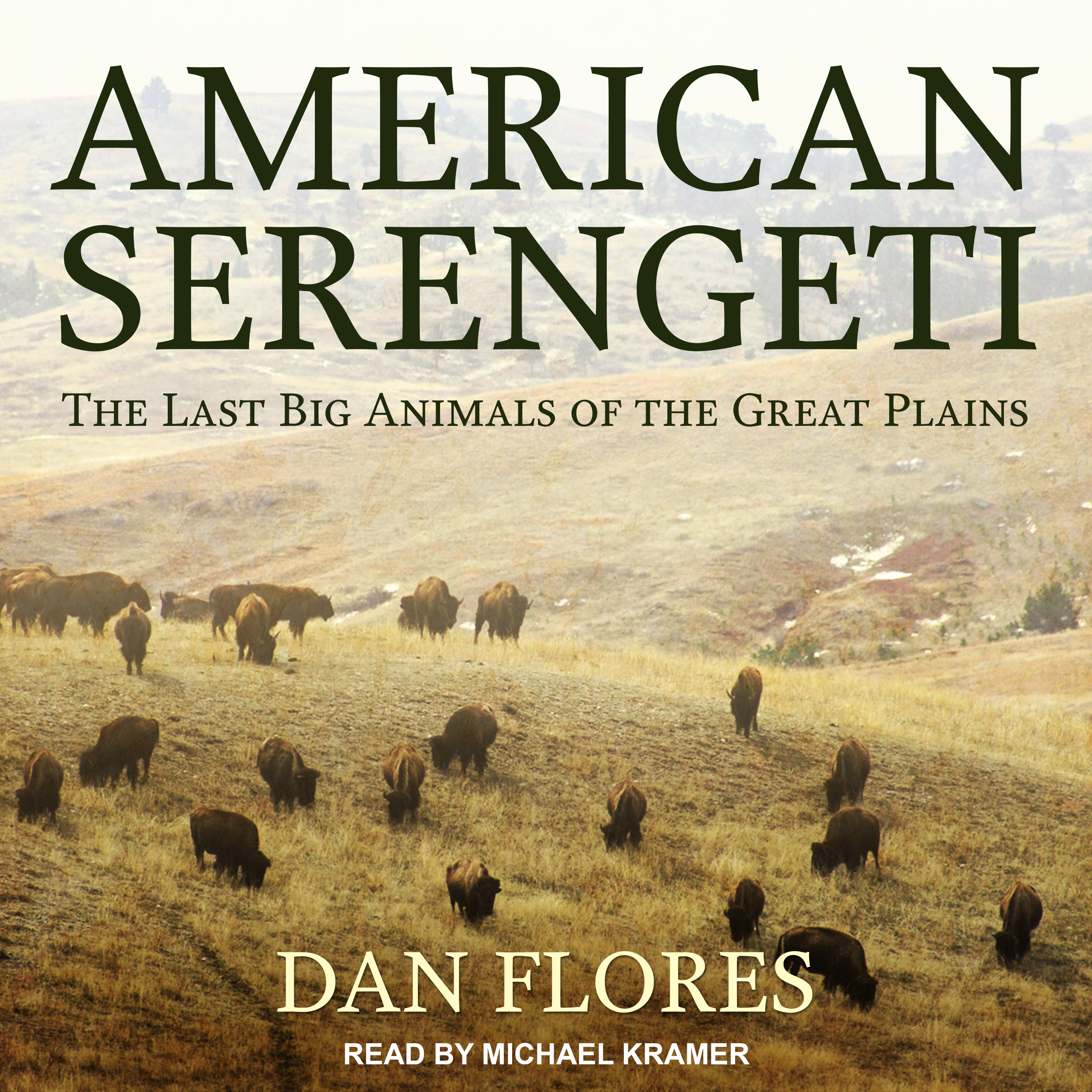 Printable American Serengeti: The Last Big Animals of the Great Plains Audiobook Cover Art