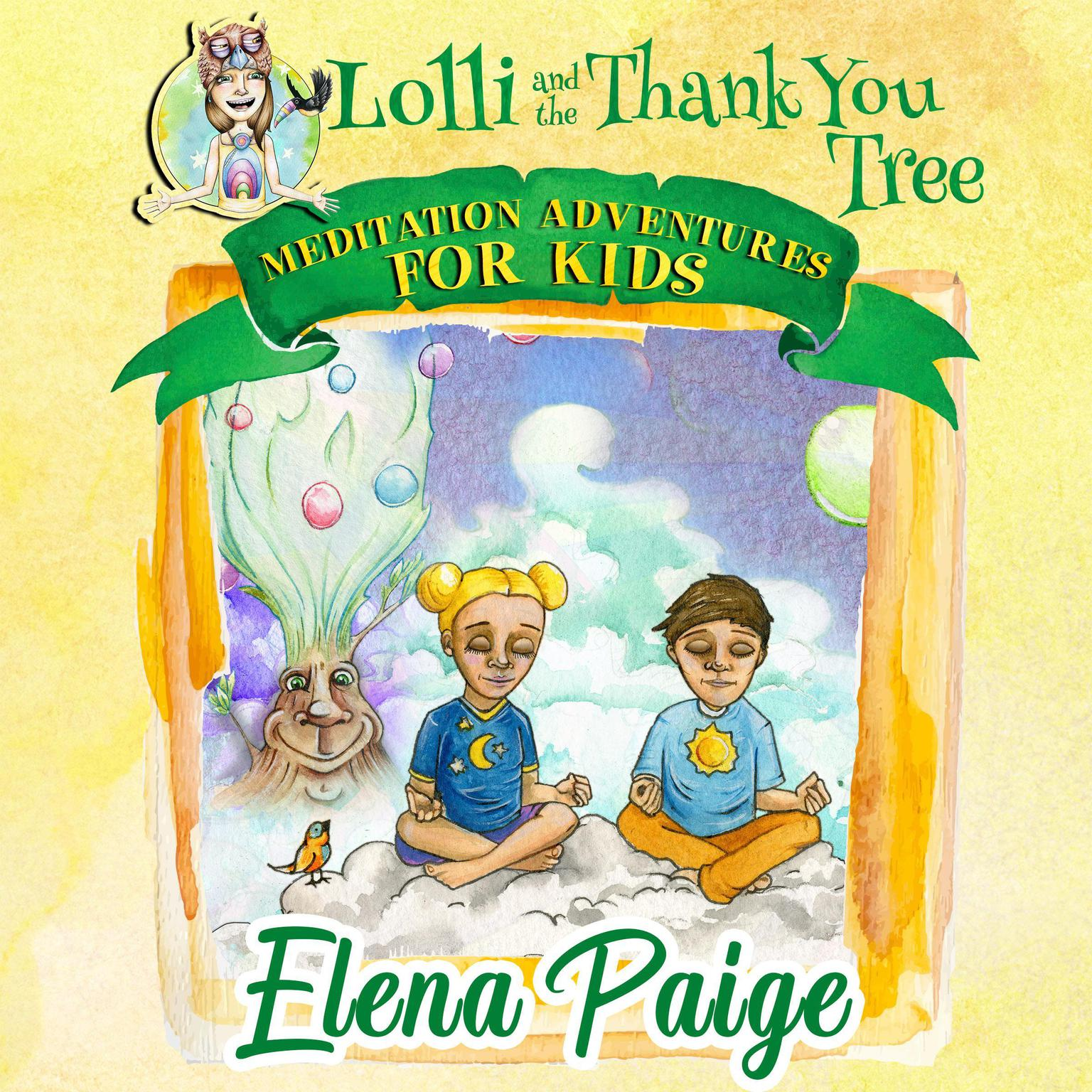 Printable Lolli and the Thank You Tree Audiobook Cover Art