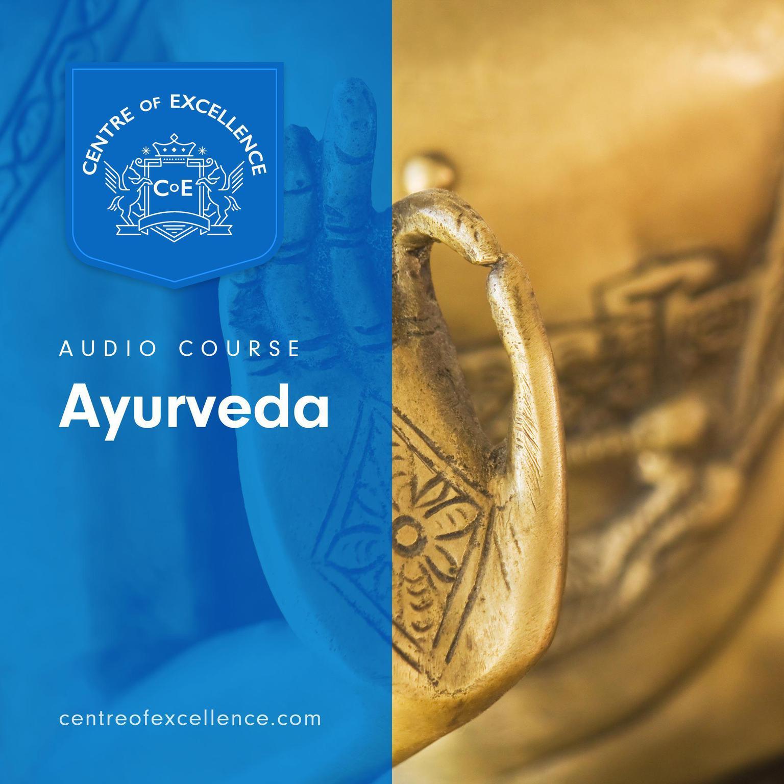 Printable Ayurveda Audiobook Cover Art