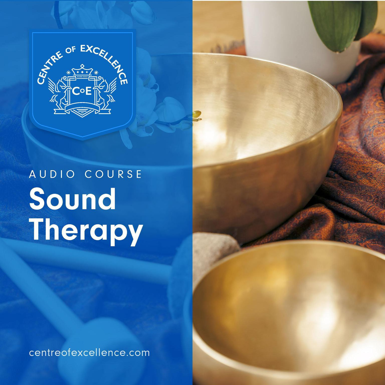 Printable Sound Therapy Audiobook Cover Art