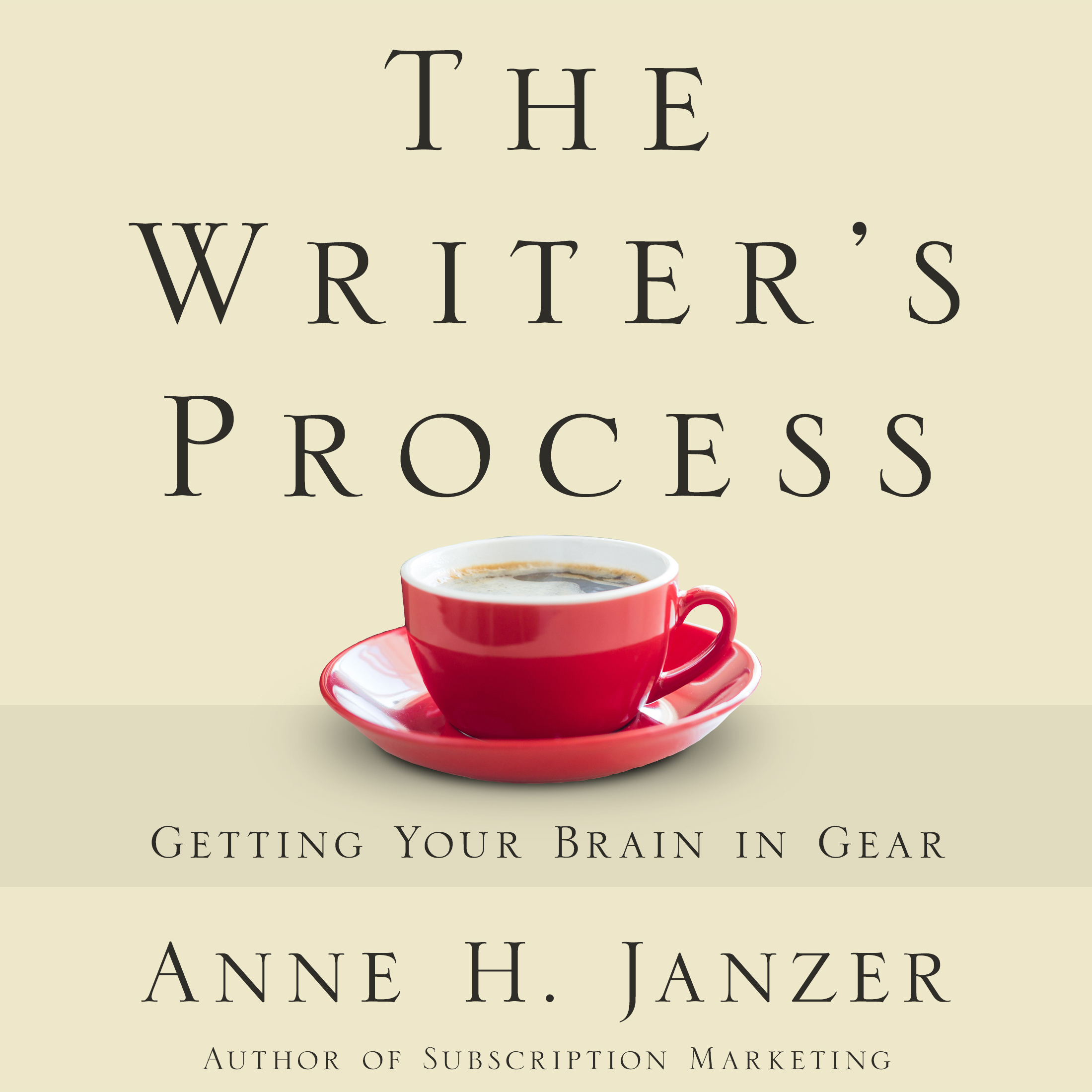 Printable The Writer's Process Audiobook Cover Art