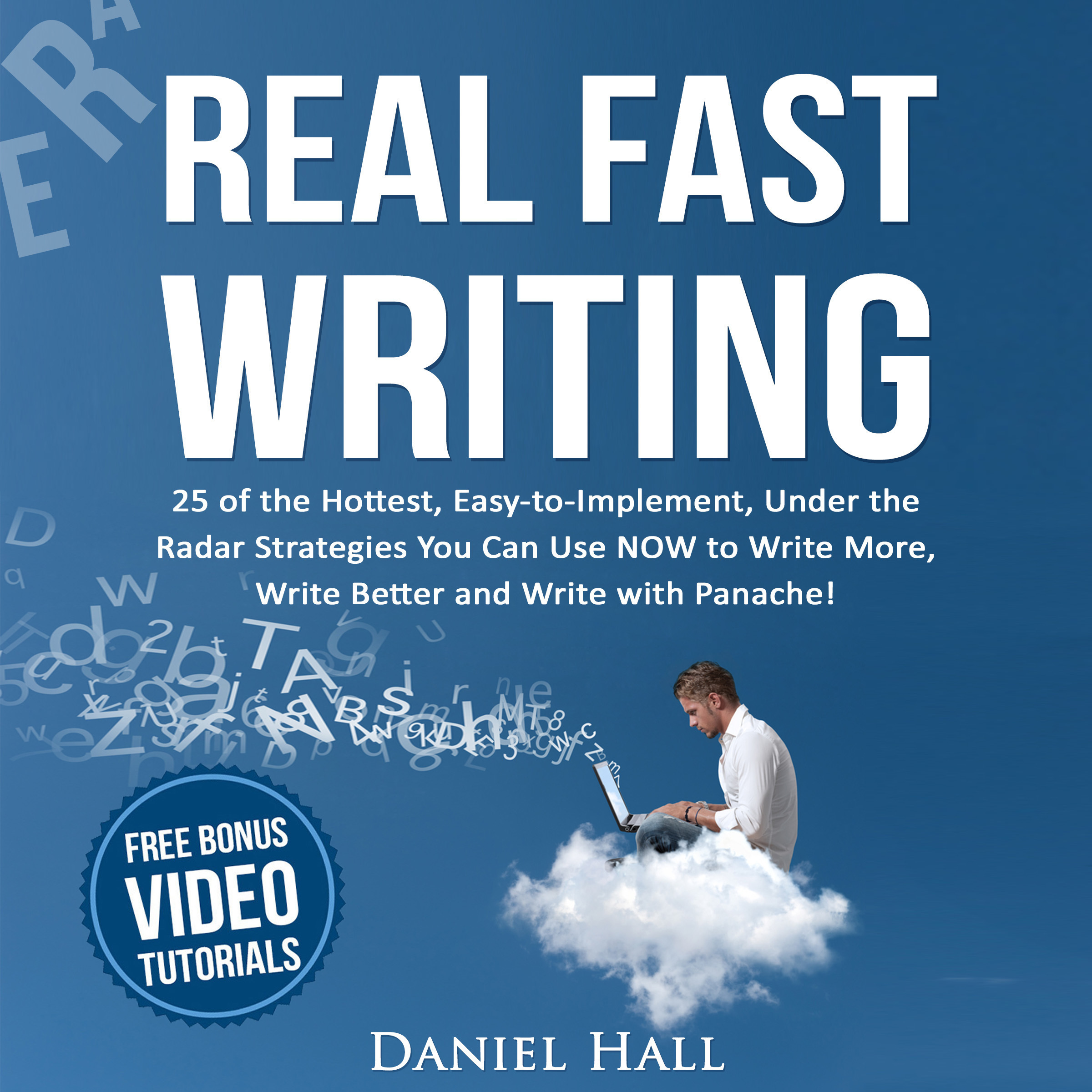 Printable Real Fast Writing Audiobook Cover Art