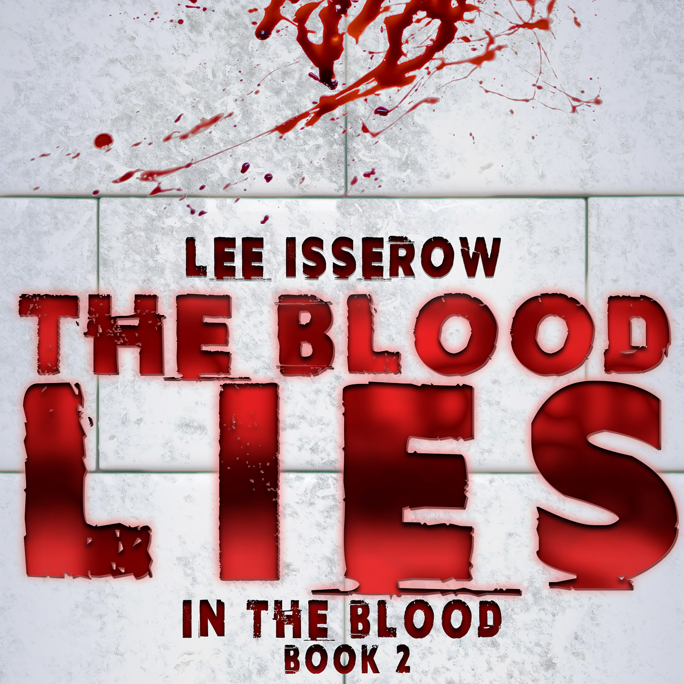 Printable The Blood Lies Audiobook Cover Art