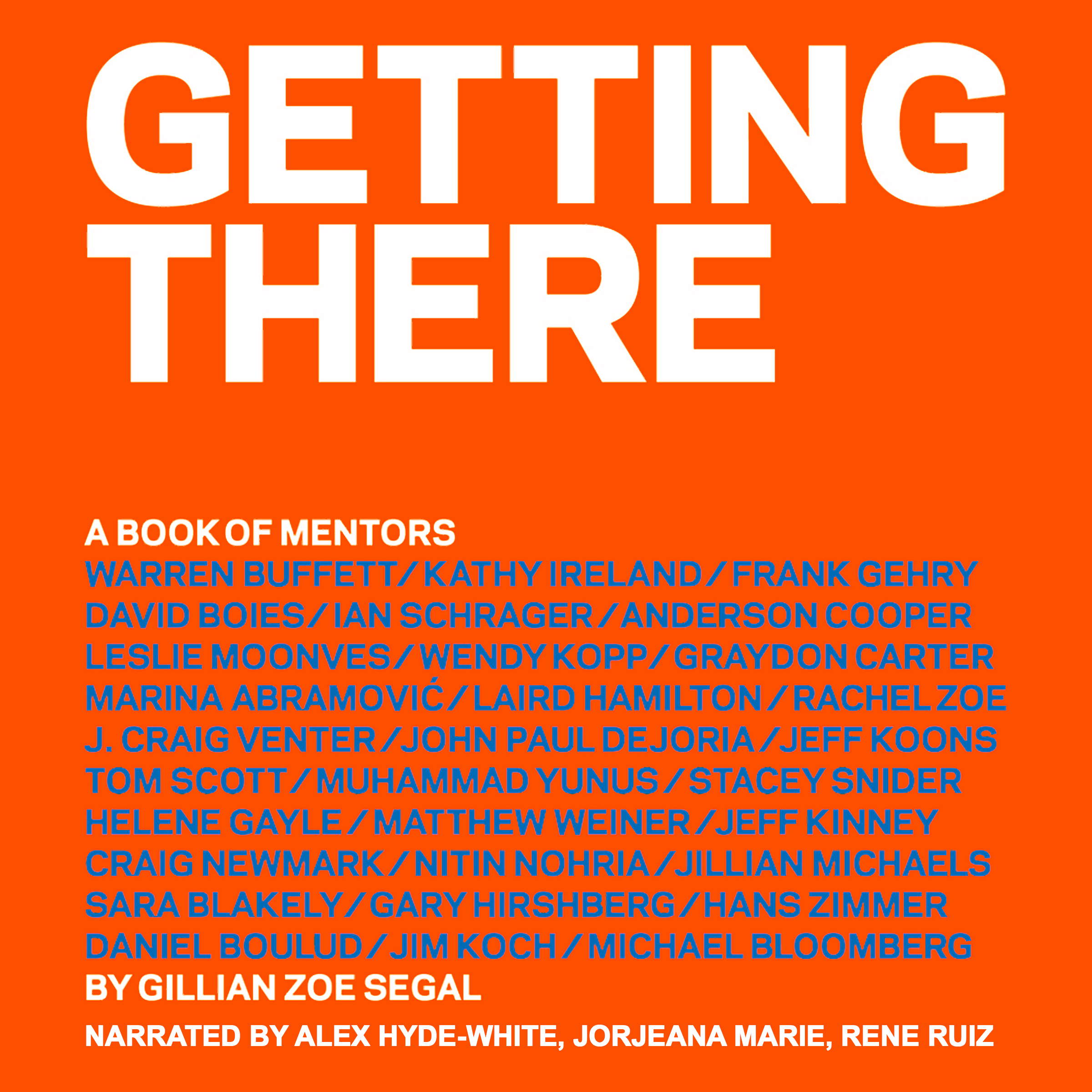 Printable Getting There: A Book of Mentors Audiobook Cover Art