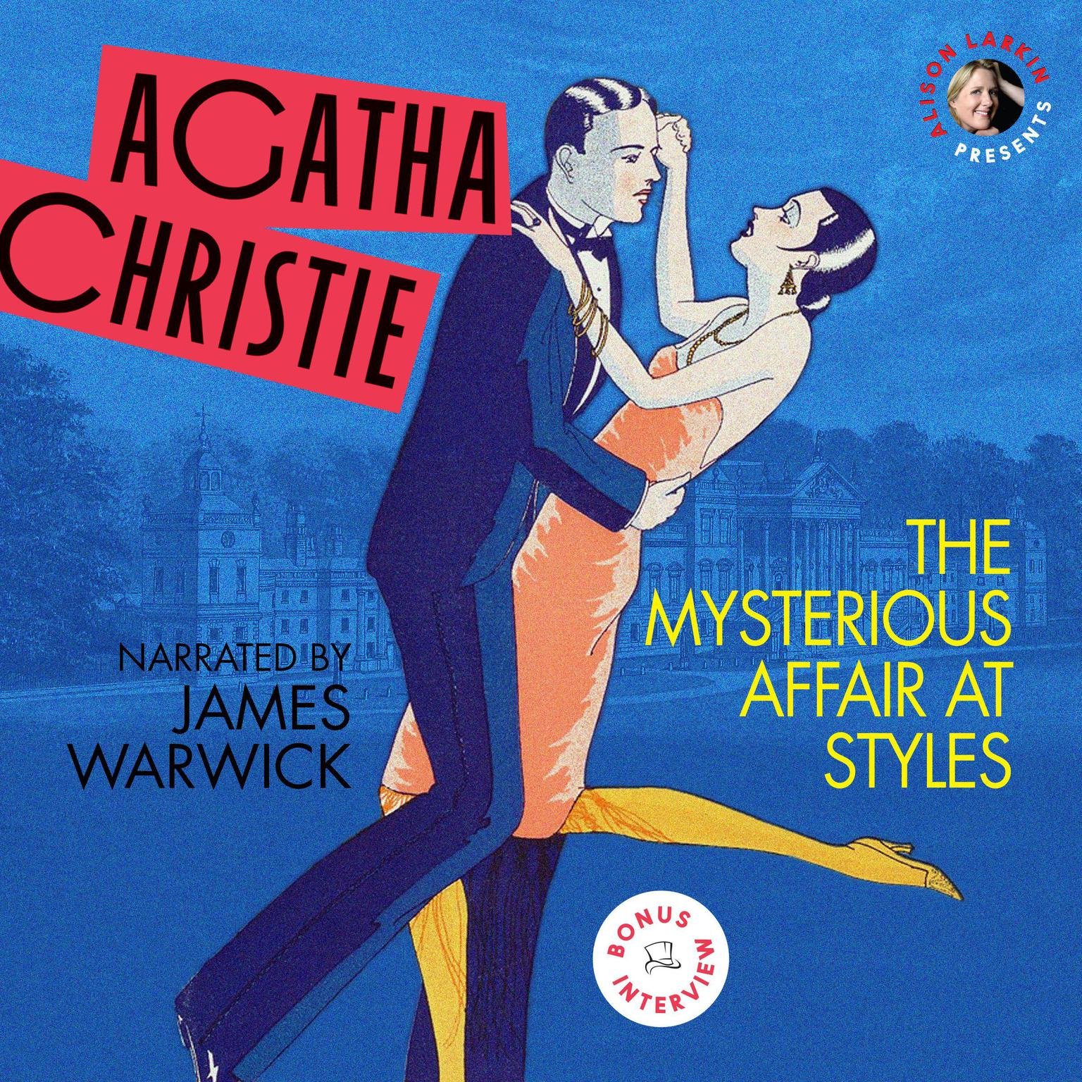 Printable The Mysterious Affair at Styles Audiobook Cover Art