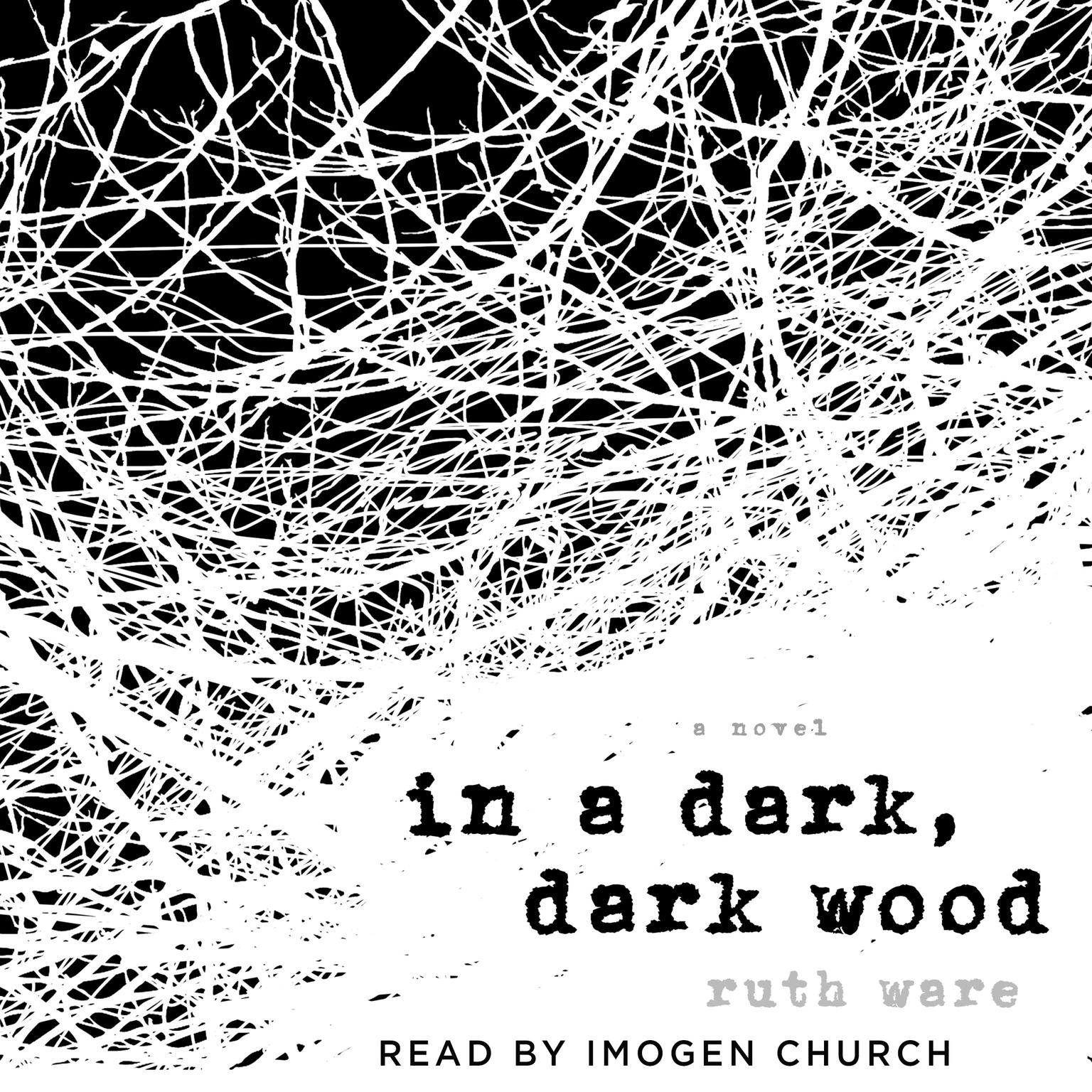 Printable In a Dark, Dark Wood Audiobook Cover Art