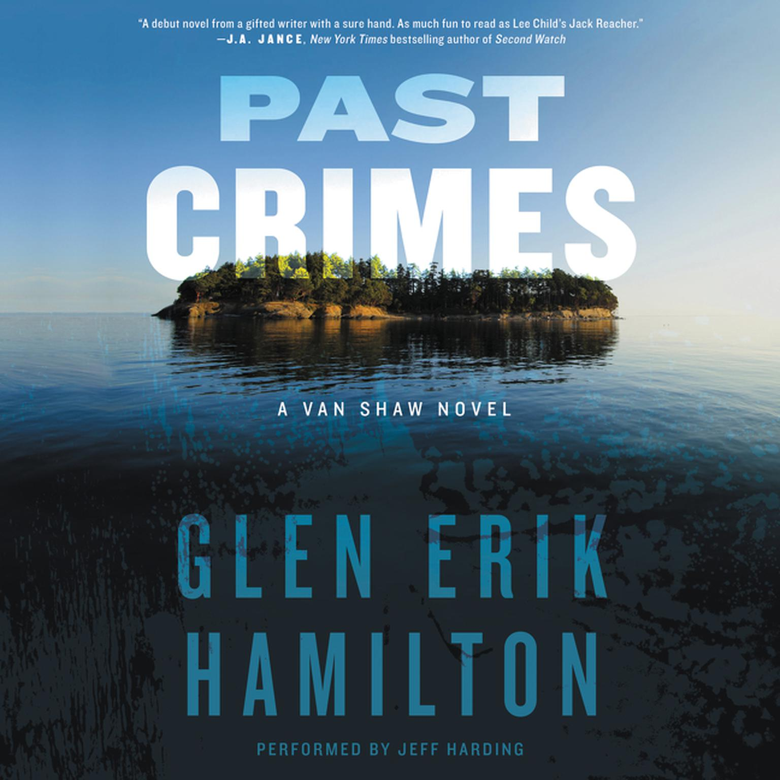 Printable Past Crimes: A Van Shaw Novel Audiobook Cover Art