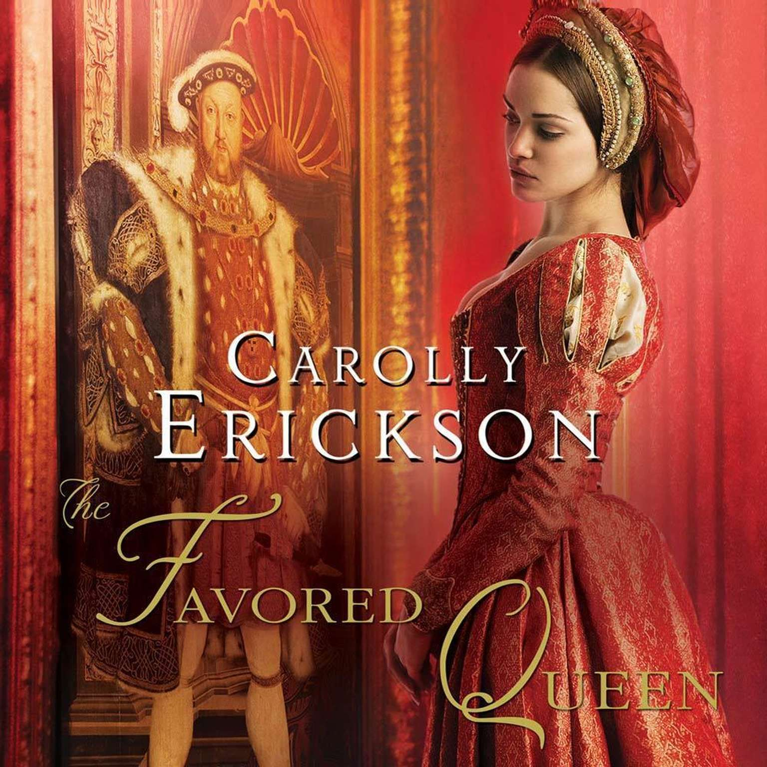 Printable The Favored Queen: A Novel of Henry VIII's Third Wife Audiobook Cover Art