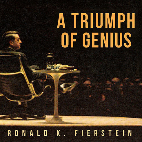 Printable A Triumph of Genius: Edwin Land, Polaroid, and the Kodak Patent War Audiobook Cover Art
