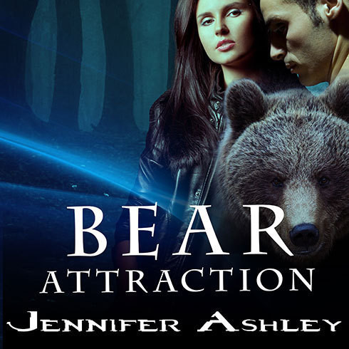 Printable Bear Attraction Audiobook Cover Art