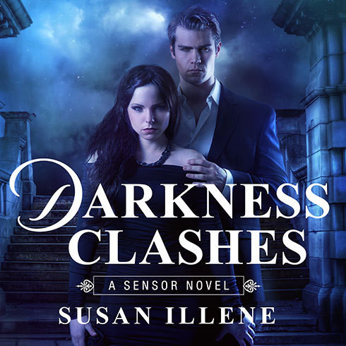 Printable Darkness Clashes Audiobook Cover Art