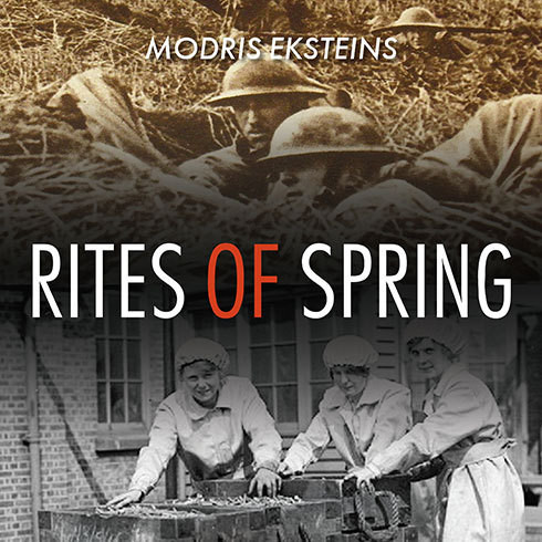 Printable Rites of Spring: The Great War and the Birth of the Modern Age Audiobook Cover Art
