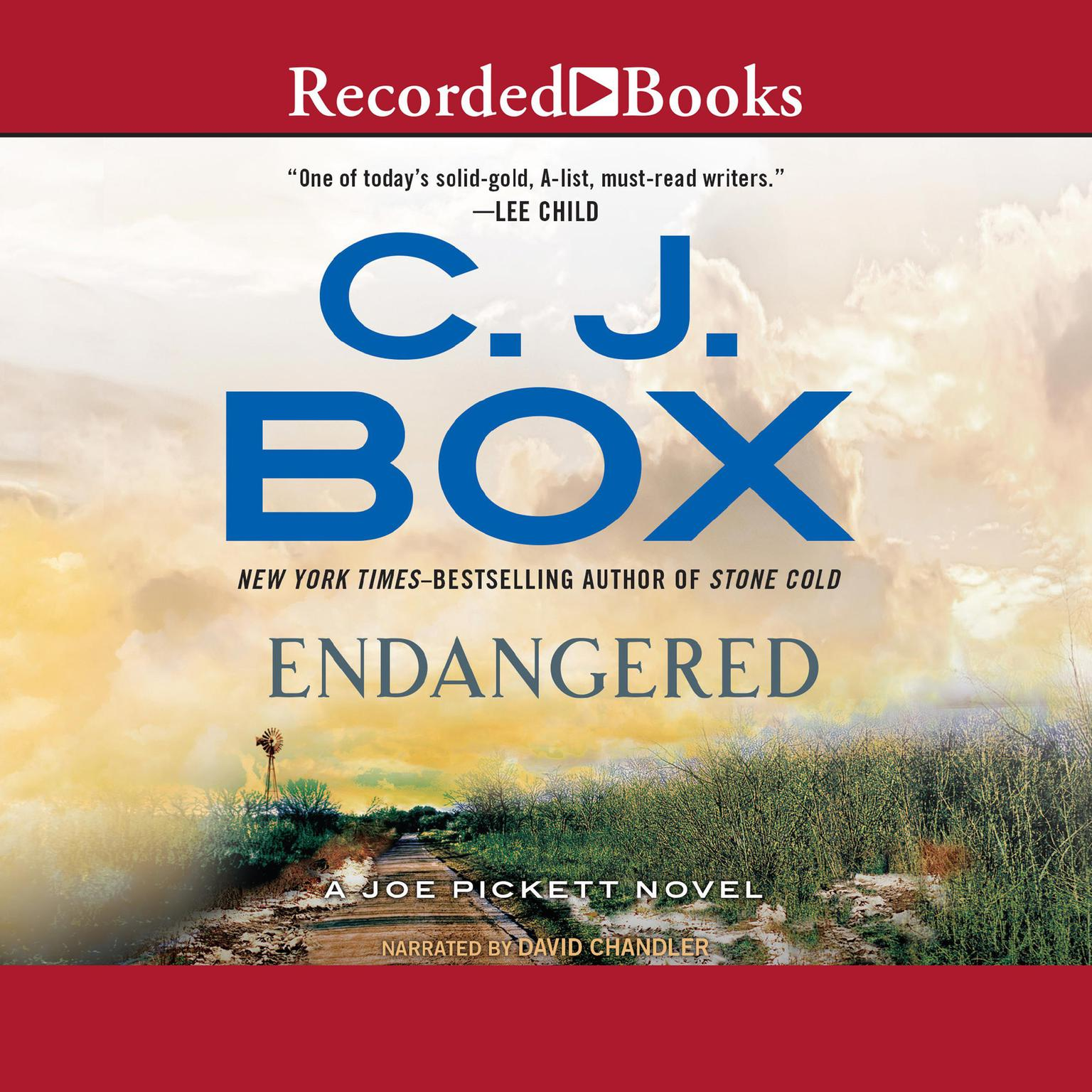 Printable Endangered Audiobook Cover Art
