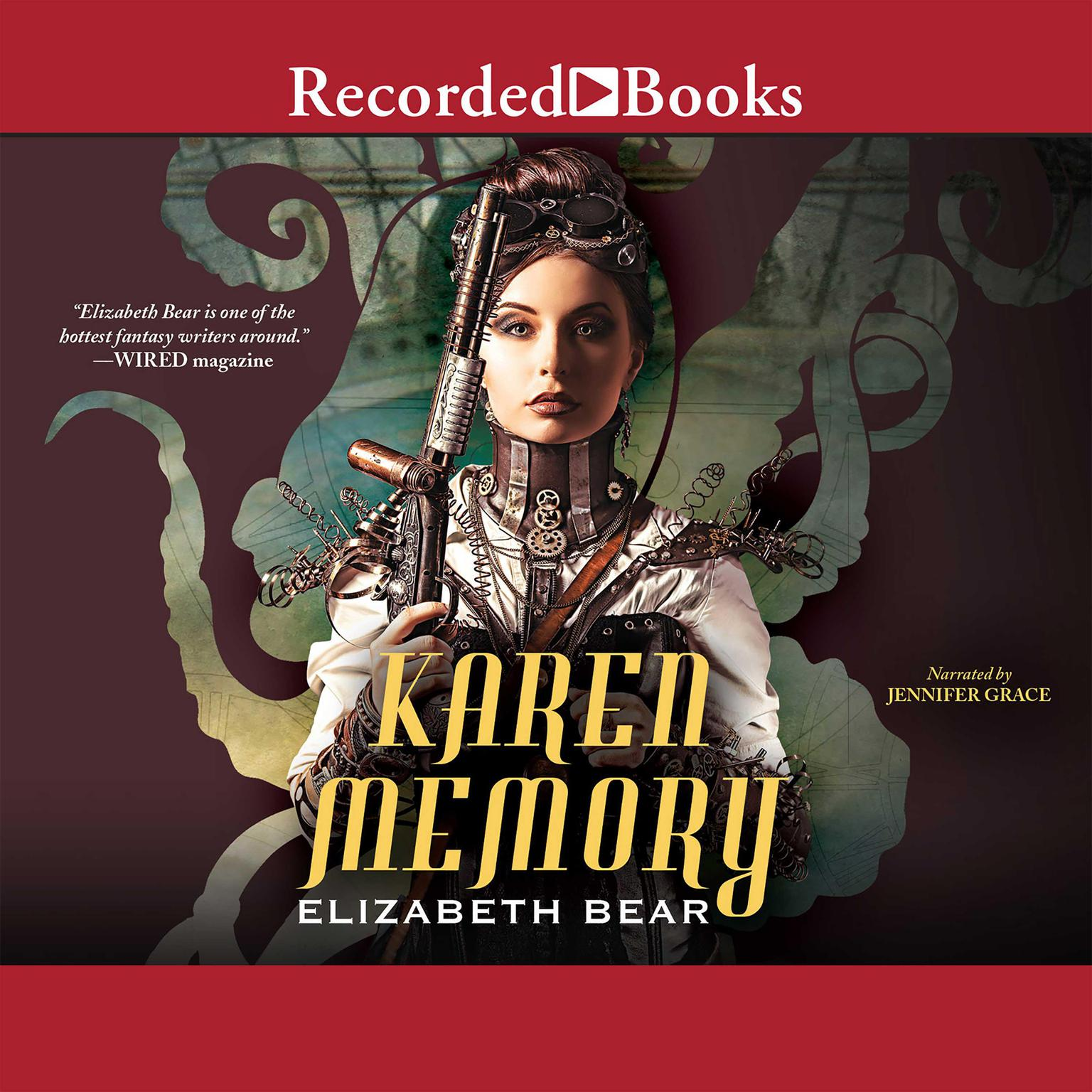 Printable Karen Memory Audiobook Cover Art