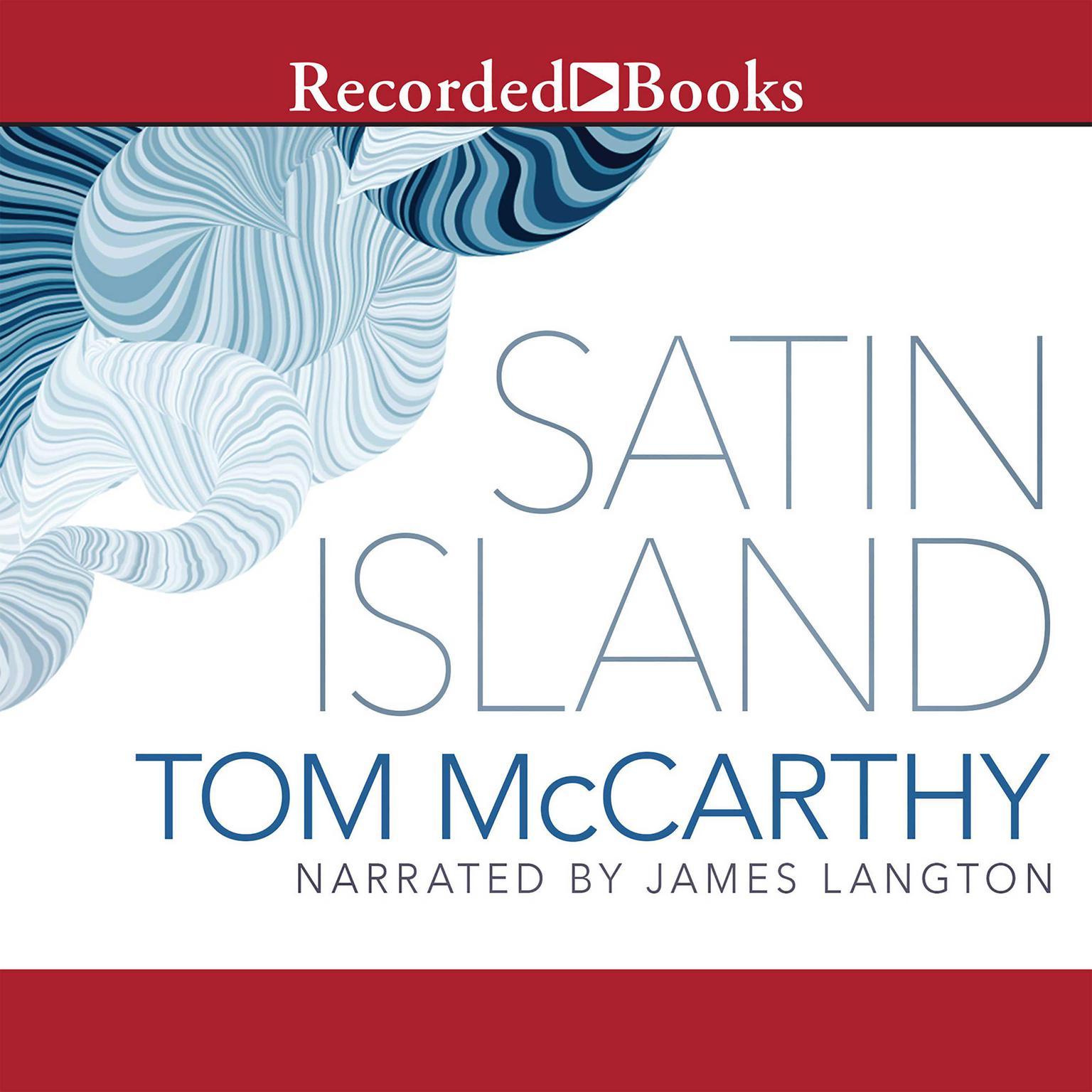 Printable Satin Island Audiobook Cover Art