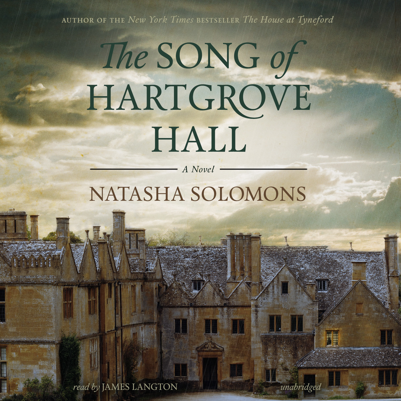 Printable The Song of Hartgrove Hall: A Novel Audiobook Cover Art