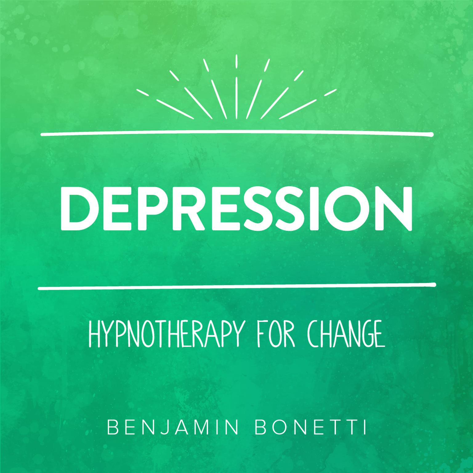 Printable Depression—Hypnotherapy for Change Audiobook Cover Art