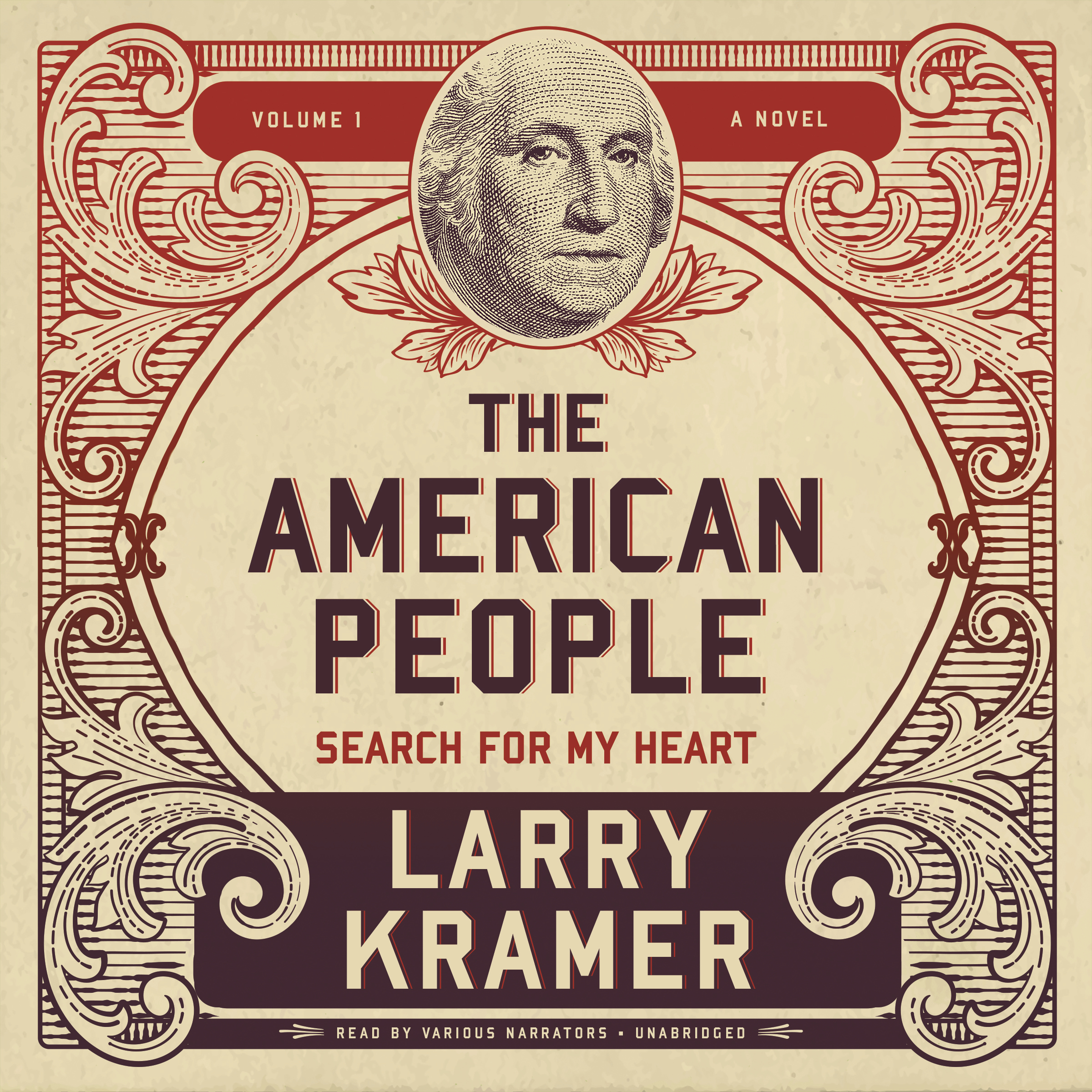 Printable The American People, Vol. 1: Search for My Heart Audiobook Cover Art