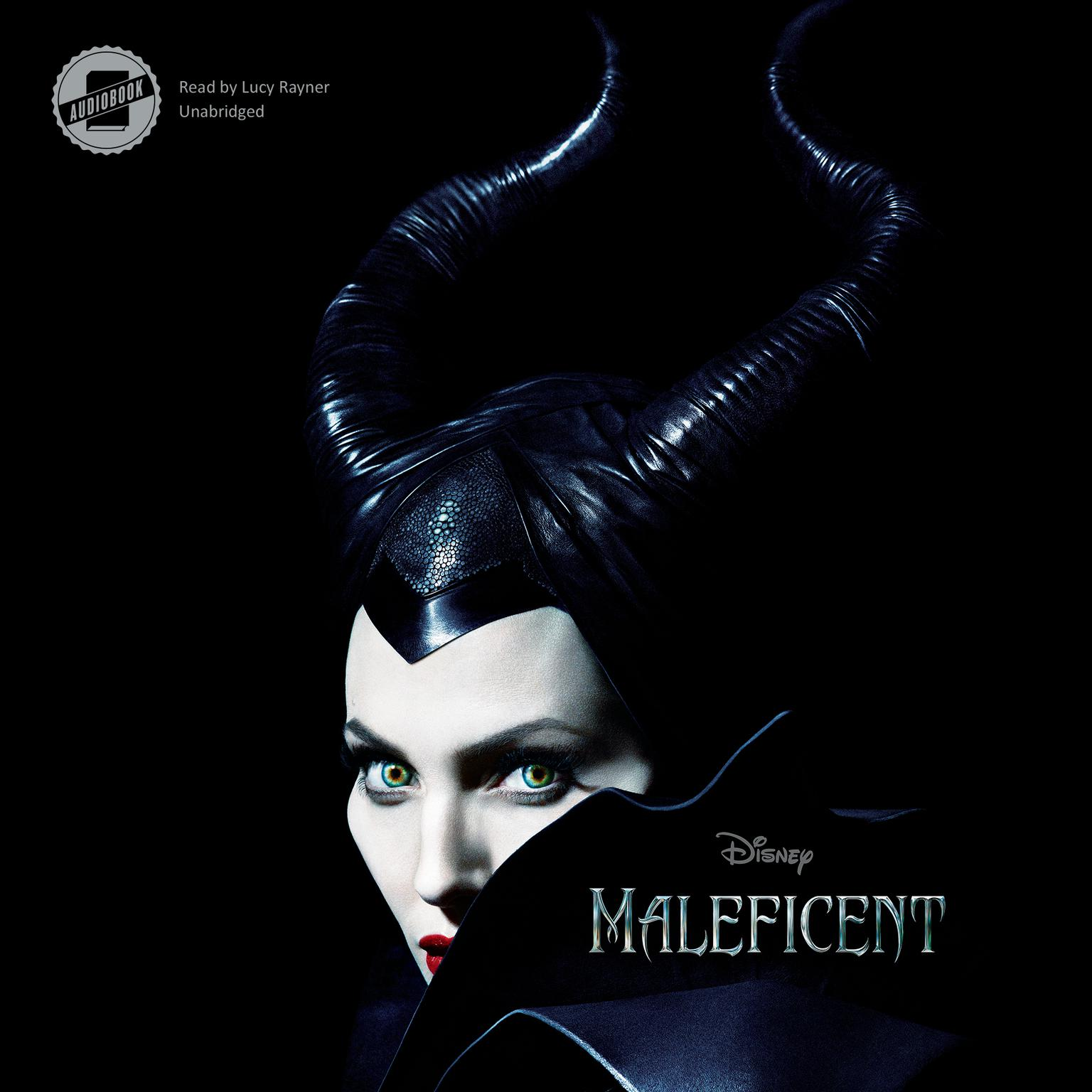 Printable Maleficent Audiobook Cover Art