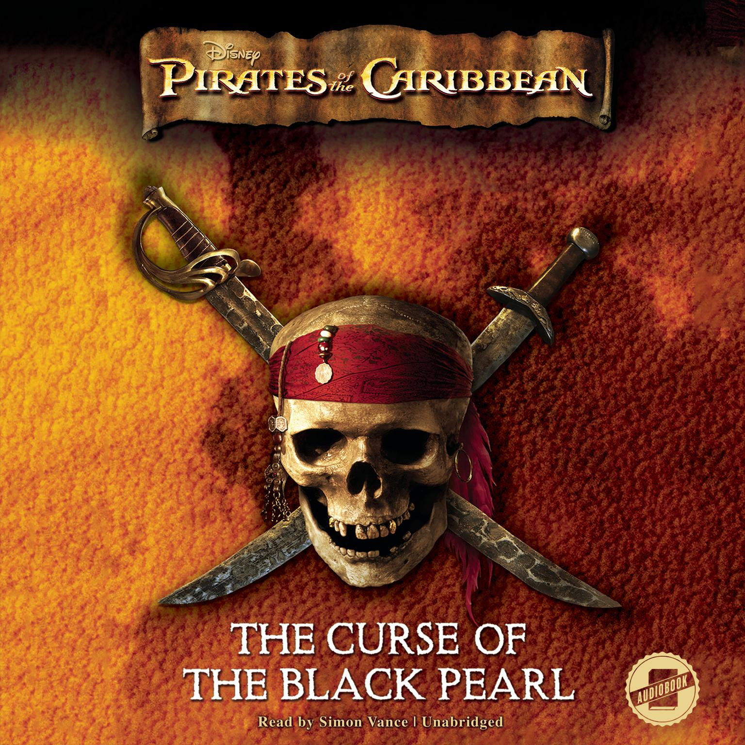 Printable Pirates of the Caribbean: The Curse of the Black Pearl Audiobook Cover Art
