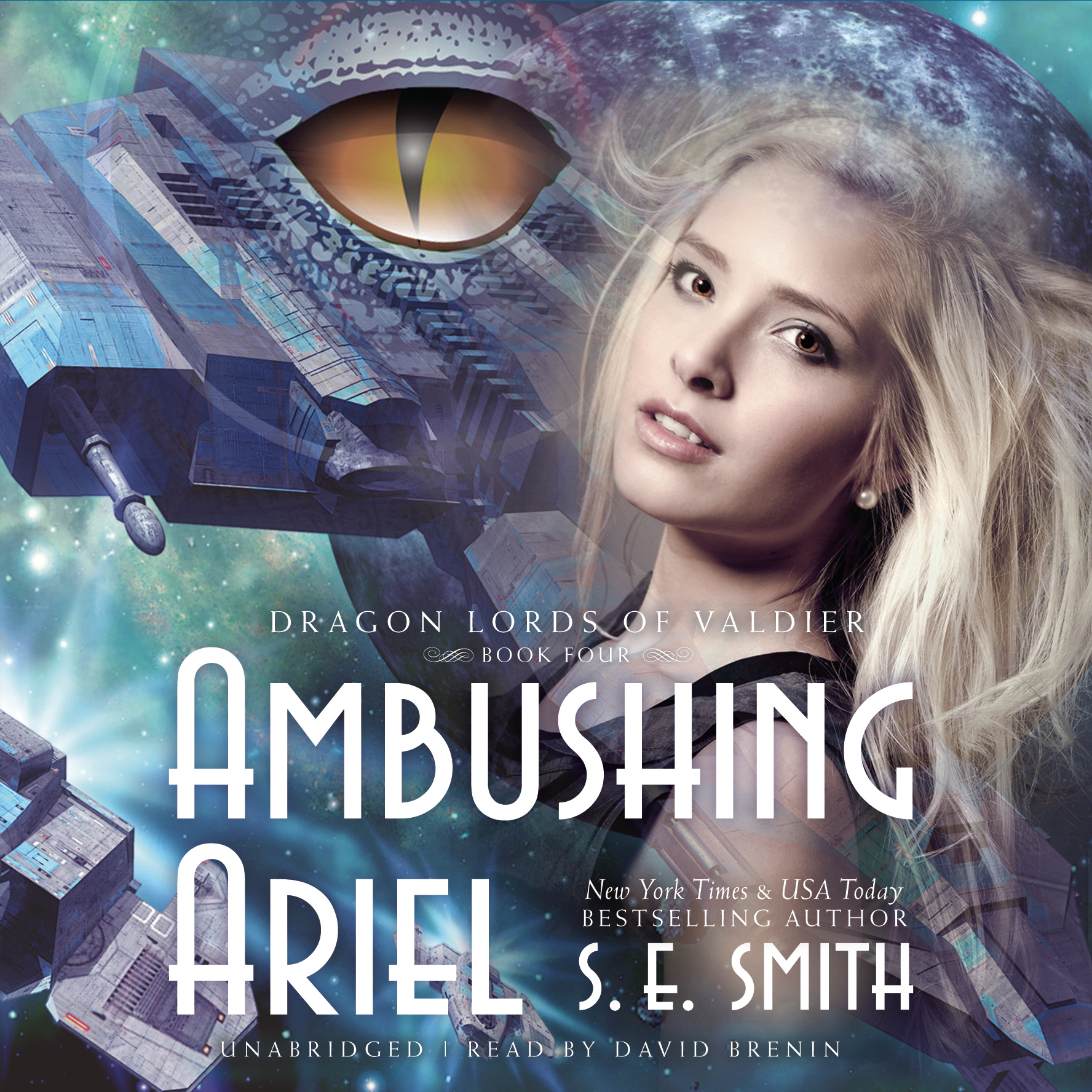 Printable Ambushing Ariel Audiobook Cover Art