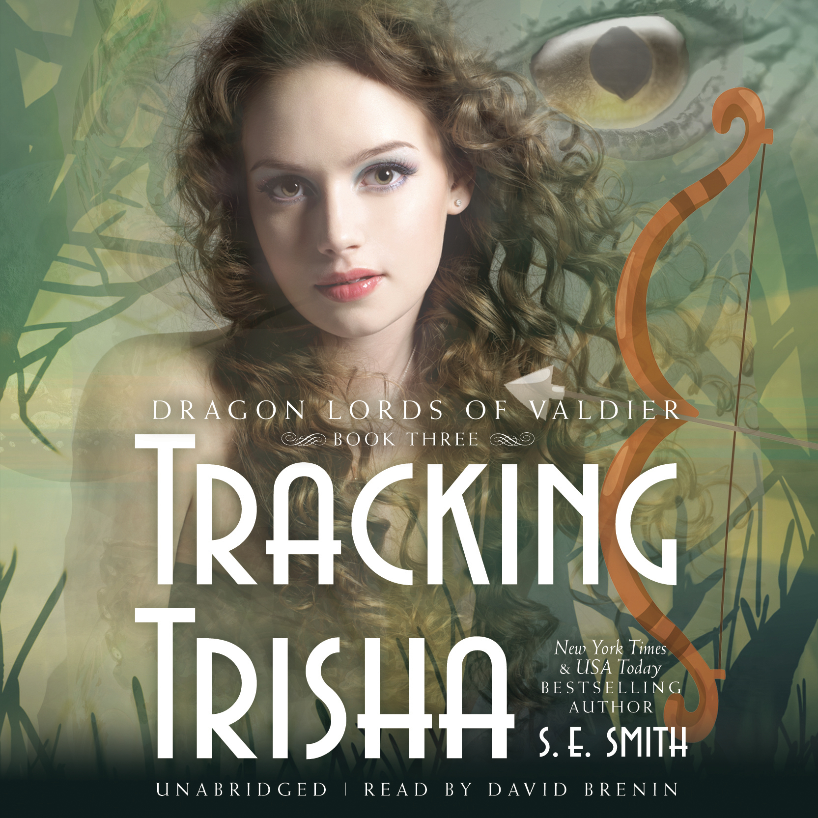 Printable Tracking Trisha Audiobook Cover Art
