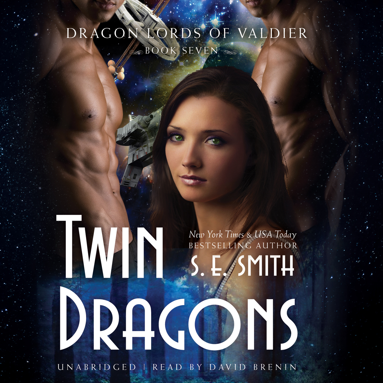 Printable Twin Dragons Audiobook Cover Art