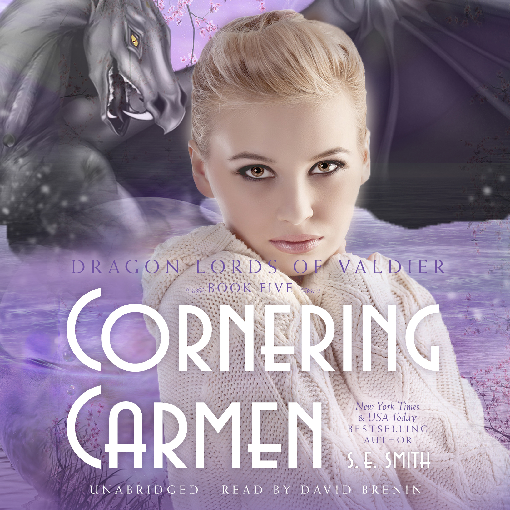 Printable Cornering Carmen Audiobook Cover Art
