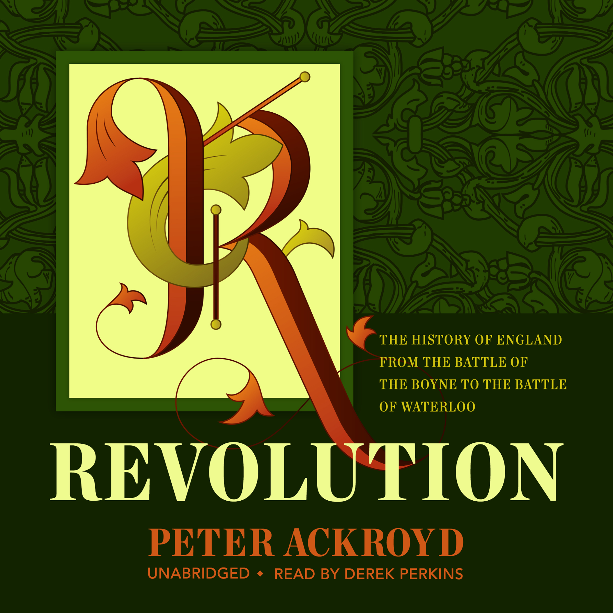 Printable Revolution: The History of England from the Battle of the Boyne to the Battle of Waterloo Audiobook Cover Art
