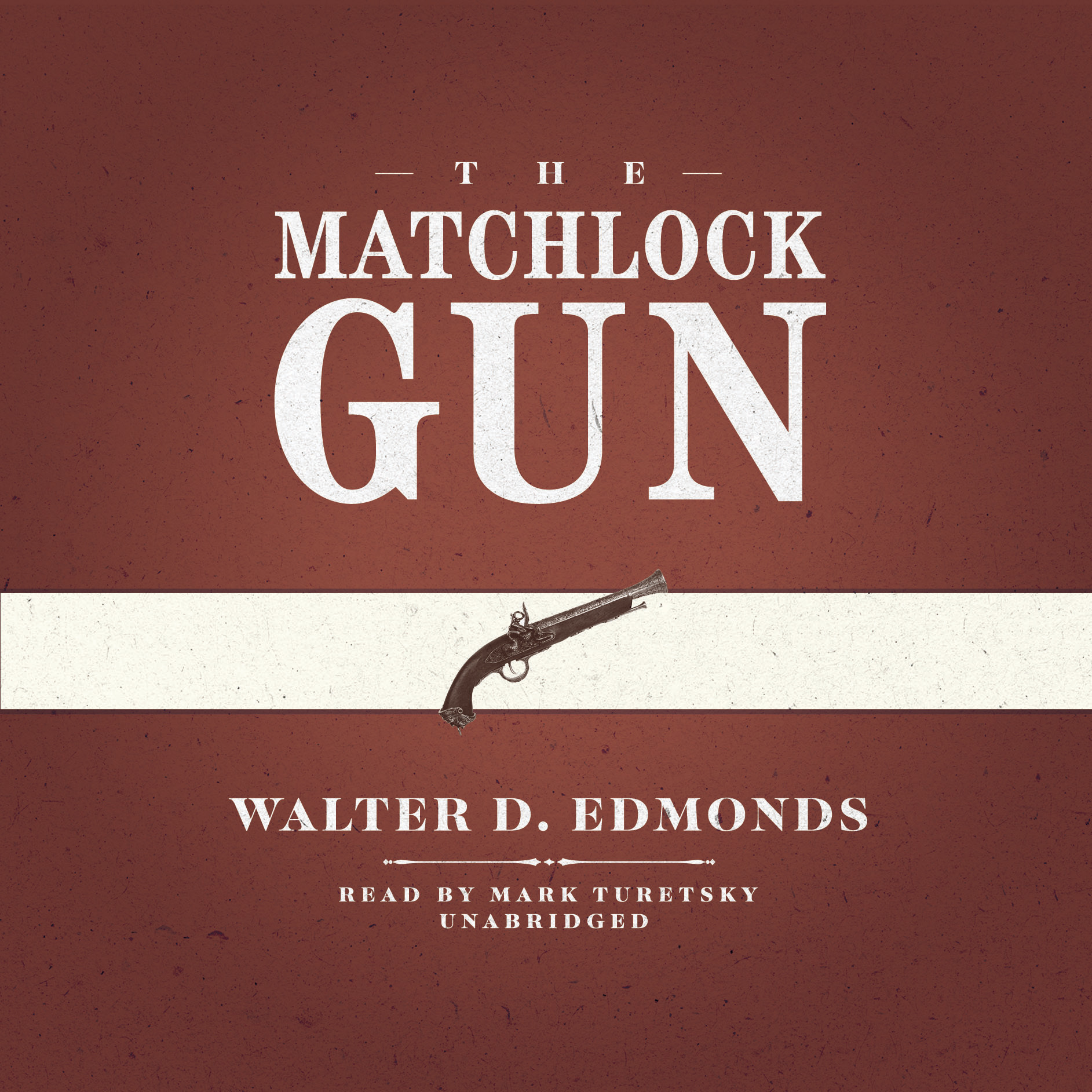 Printable The Matchlock Gun Audiobook Cover Art