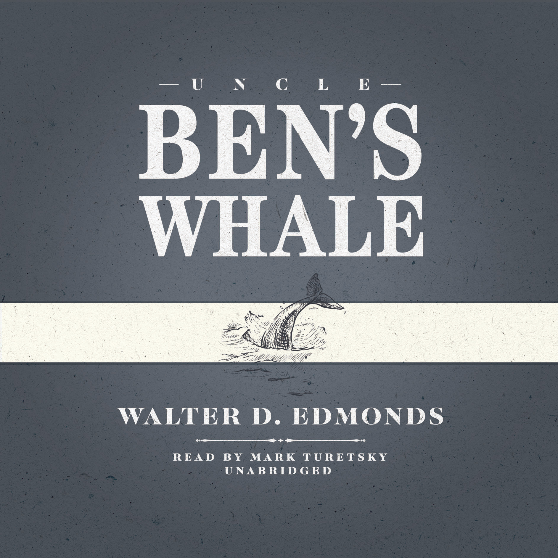 Printable Uncle Ben's Whale Audiobook Cover Art