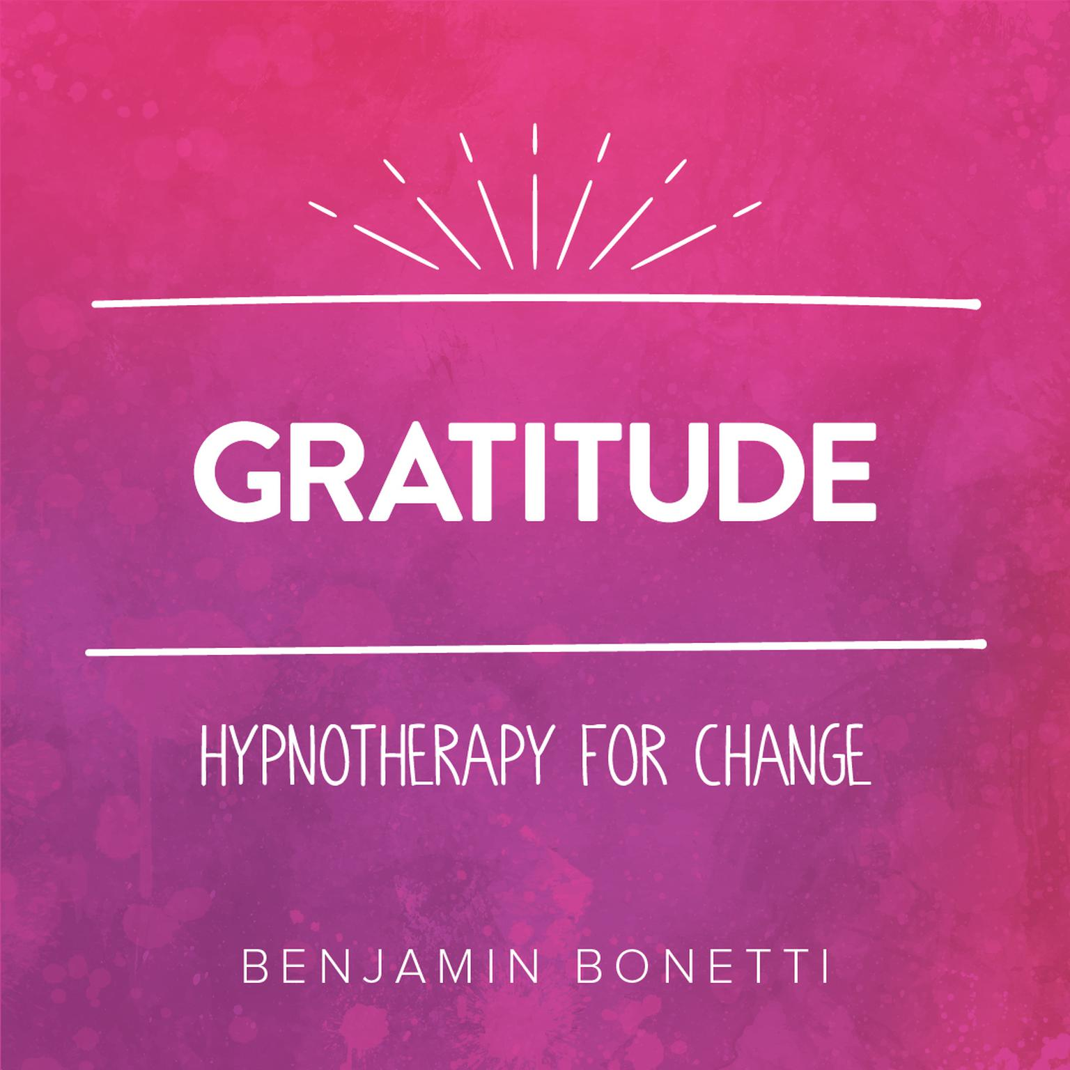 Printable Gratitude—Hypnotherapy For Change Audiobook Cover Art