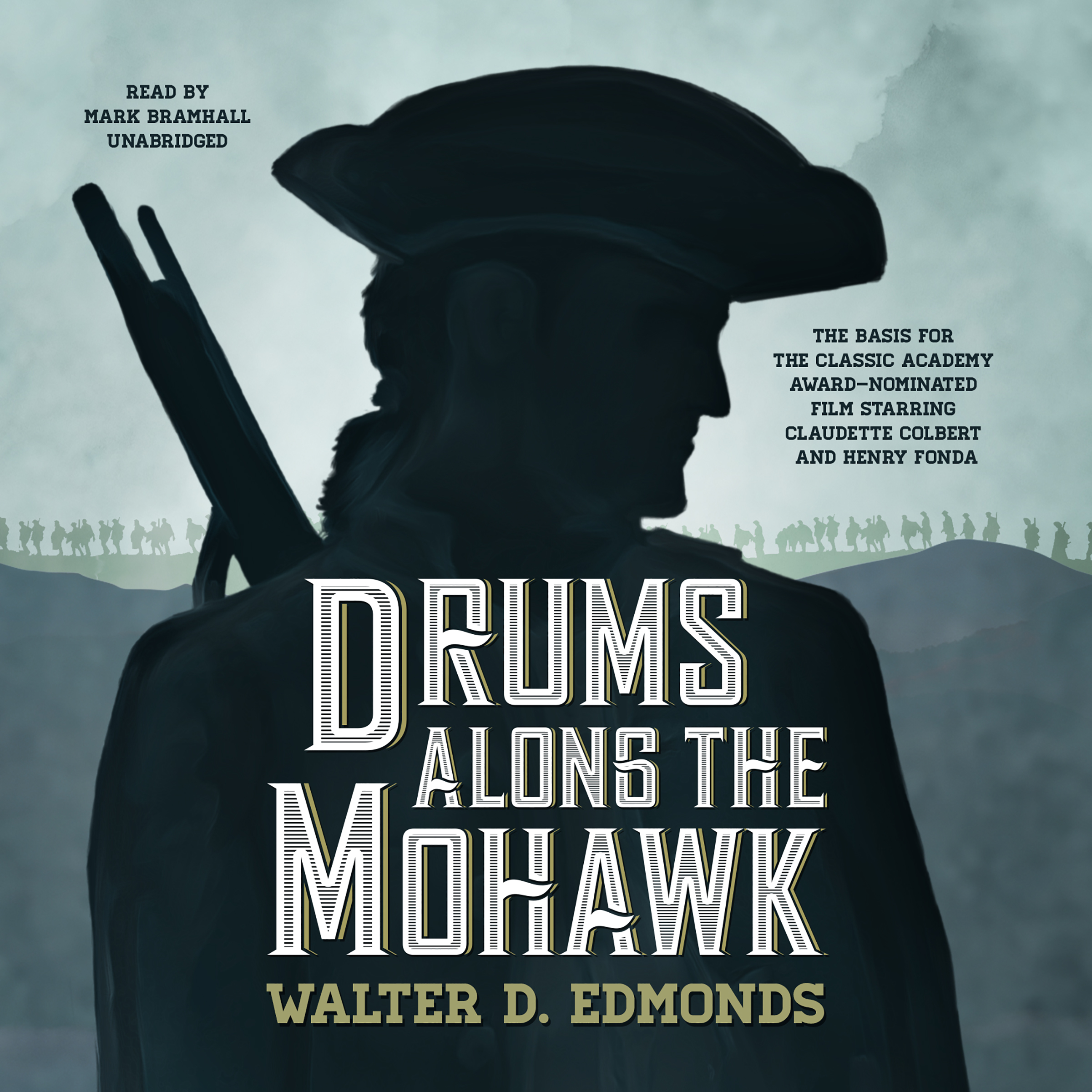 Printable Drums along the Mohawk Audiobook Cover Art