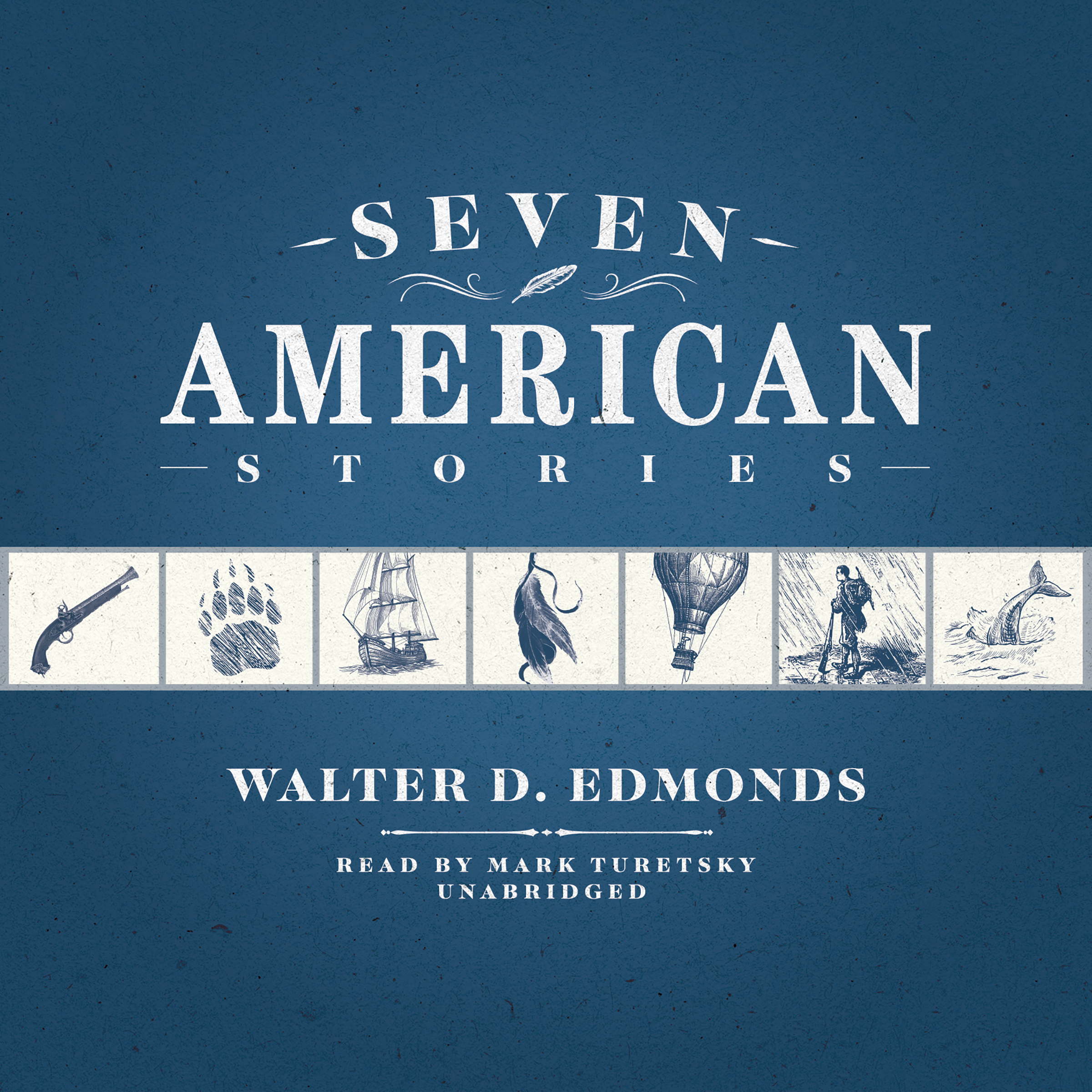 Printable Seven American Stories Audiobook Cover Art