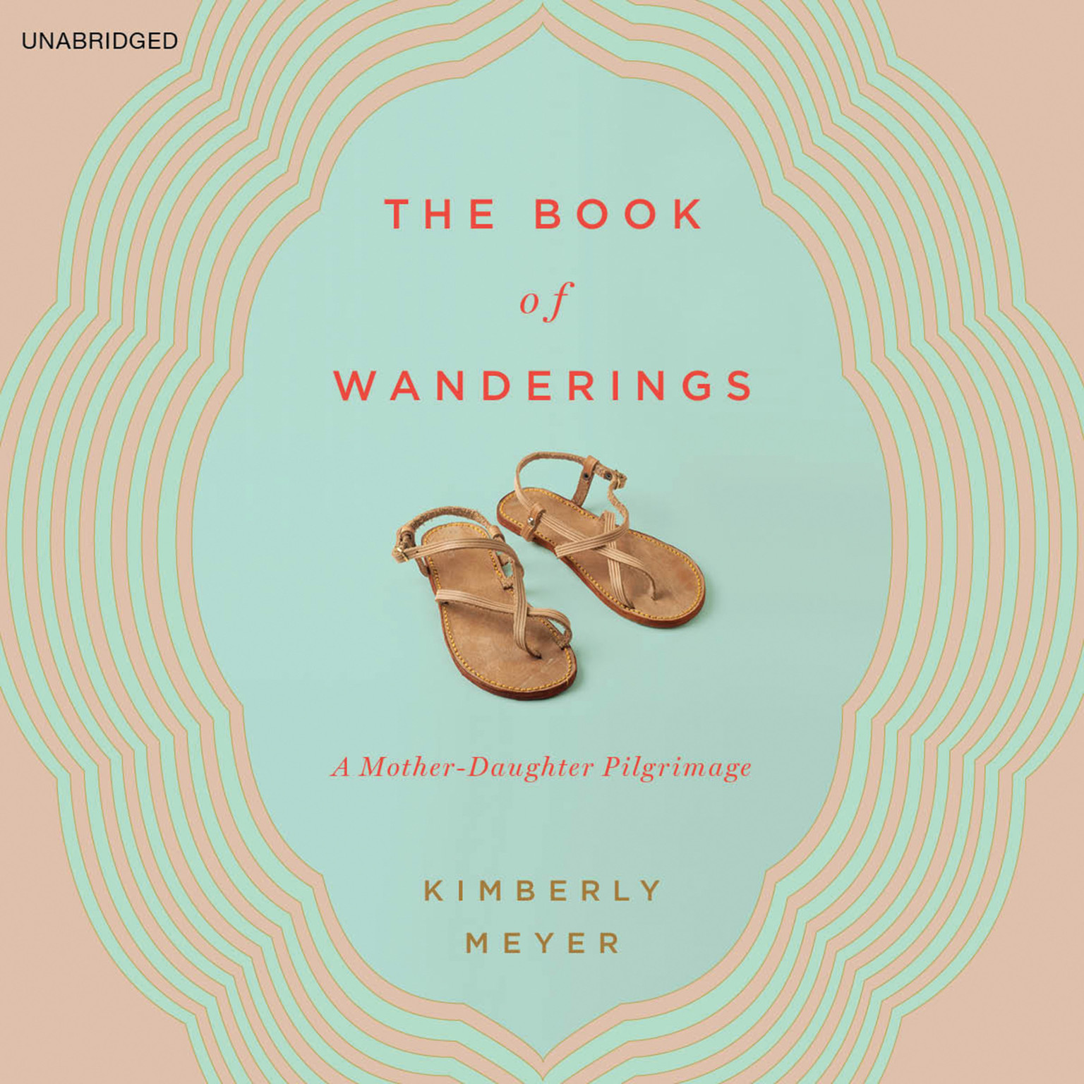 Printable The Book of Wanderings: A Mother-Daughter Pilgrimage Audiobook Cover Art
