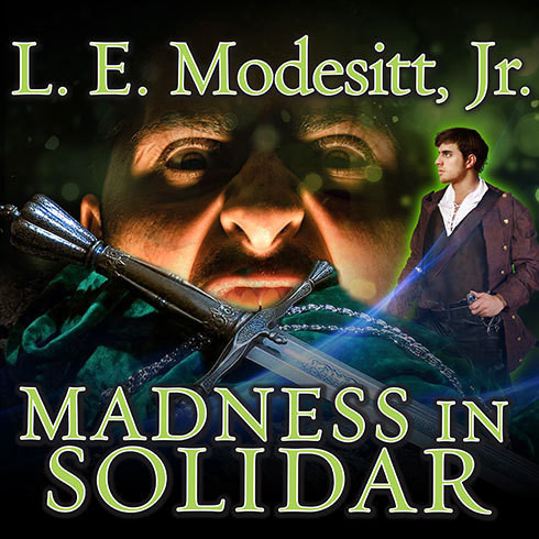 Printable Madness in Solidar Audiobook Cover Art