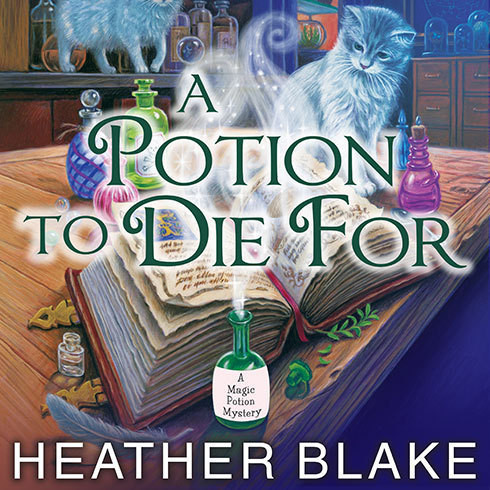 Printable A Potion to Die For Audiobook Cover Art