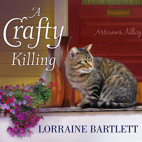 Printable A Crafty Killing Audiobook Cover Art