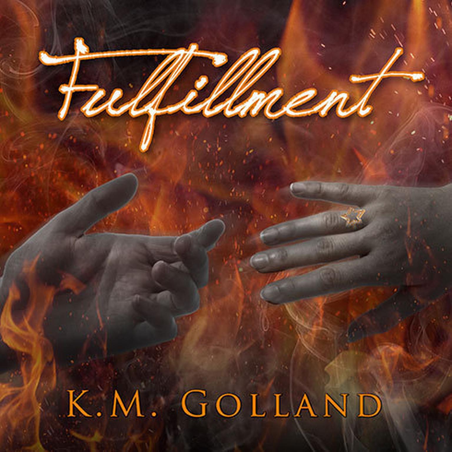 Printable Fulfillment Audiobook Cover Art