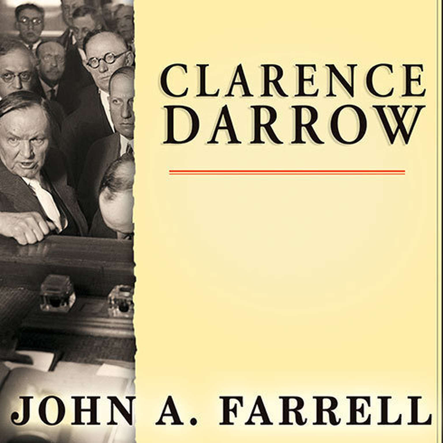 Printable Clarence Darrow: Attorney for the Damned Audiobook Cover Art