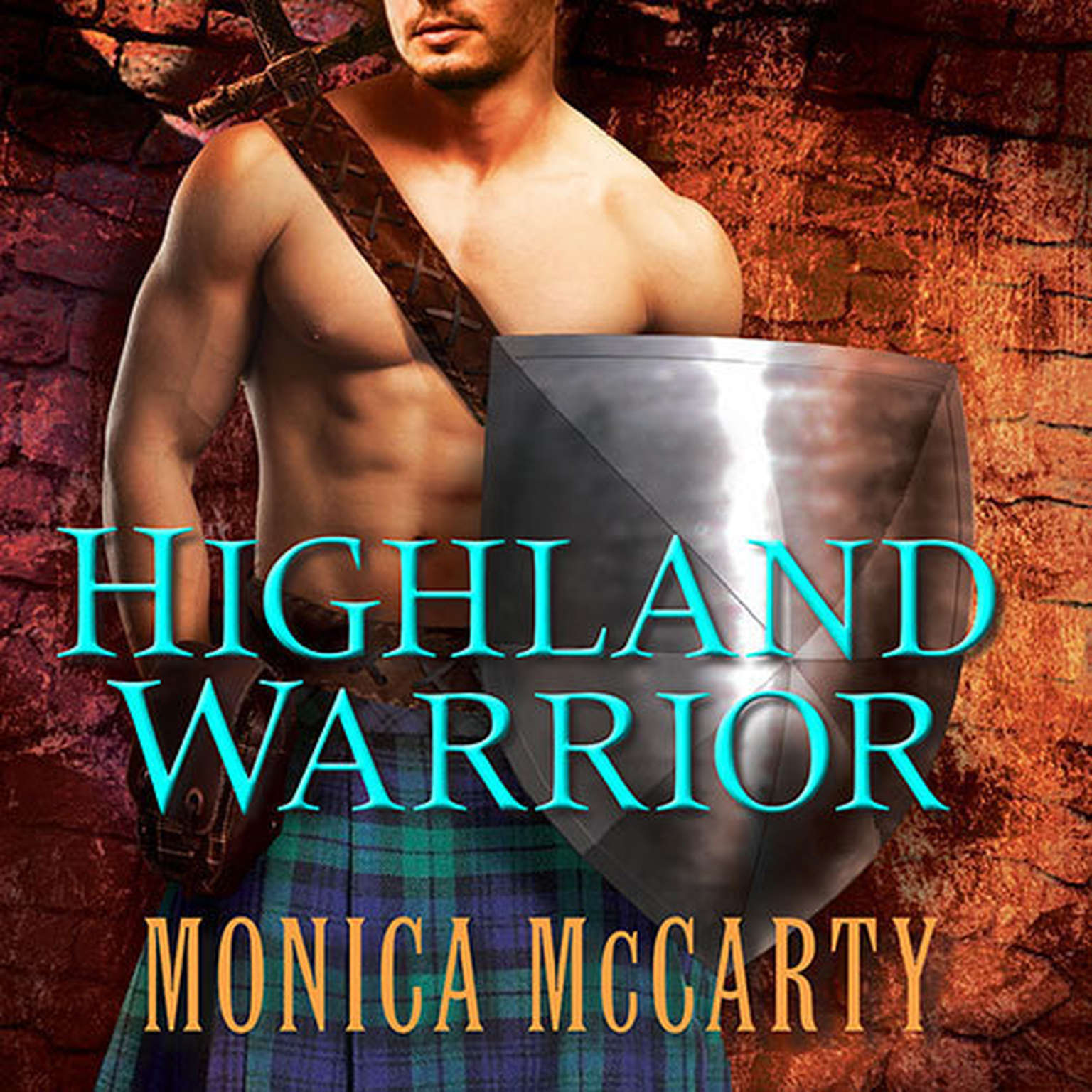 Printable Highland Warrior: A Novel Audiobook Cover Art