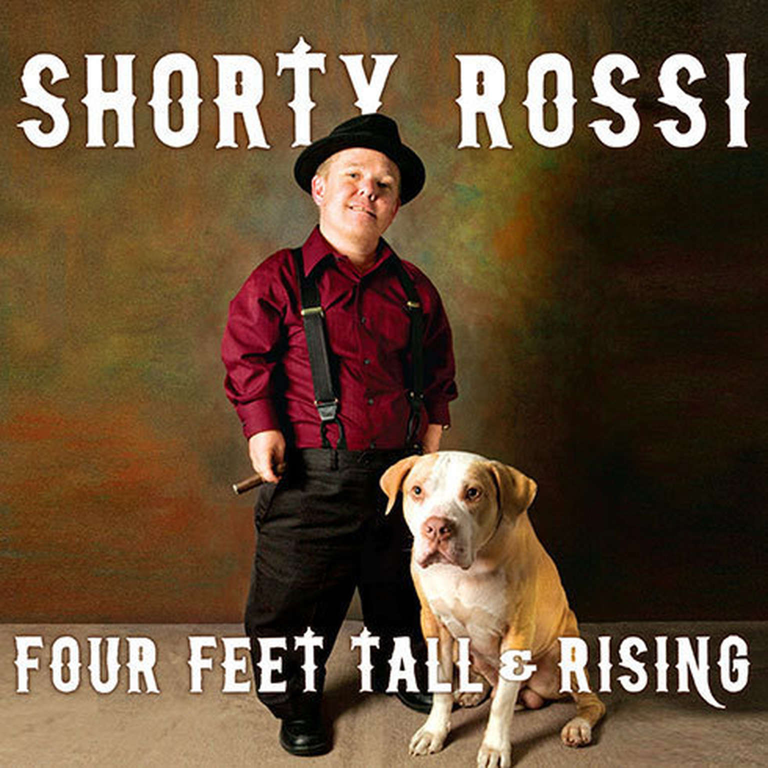Printable Four Feet Tall & Rising: A Memoir Audiobook Cover Art